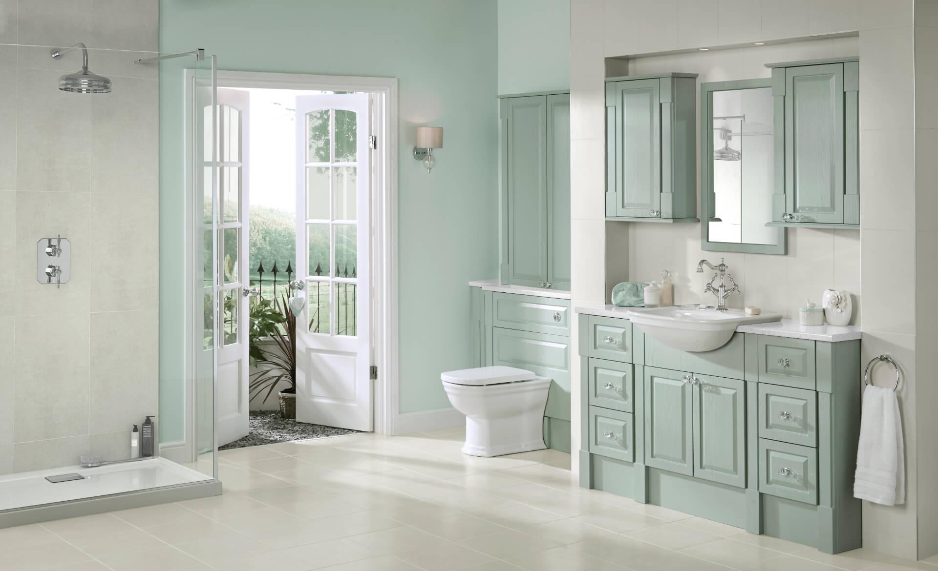 Nolte Original Fitted Mint Bathroom