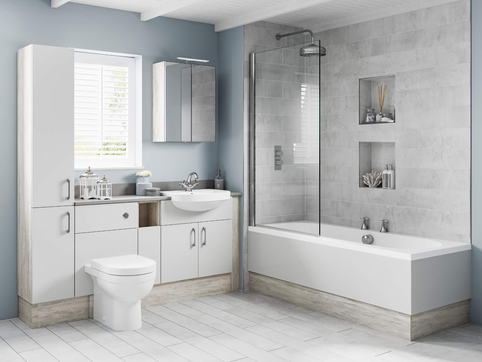 Nolte Original Fitted White Bathroom