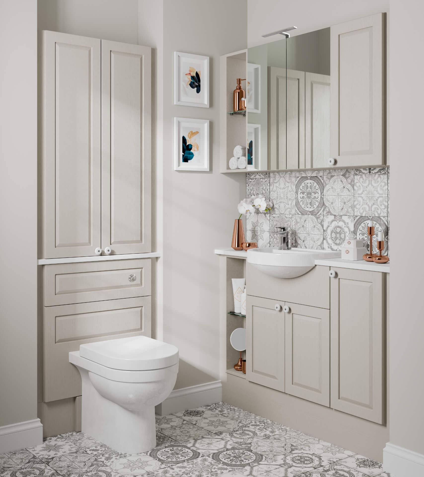 Nolte Original Fitted Ivory Bathroom