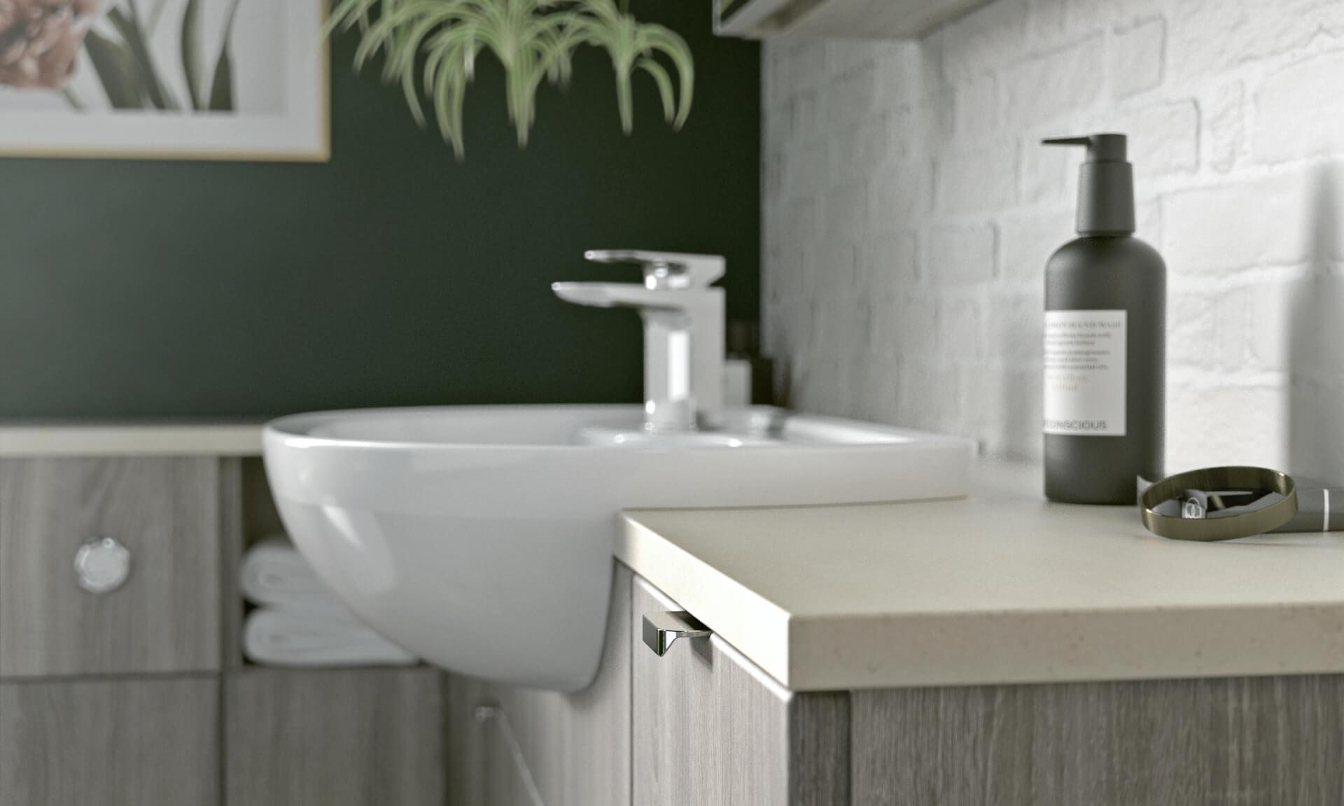 Nolte Original Fitted Wooden Sink Unit