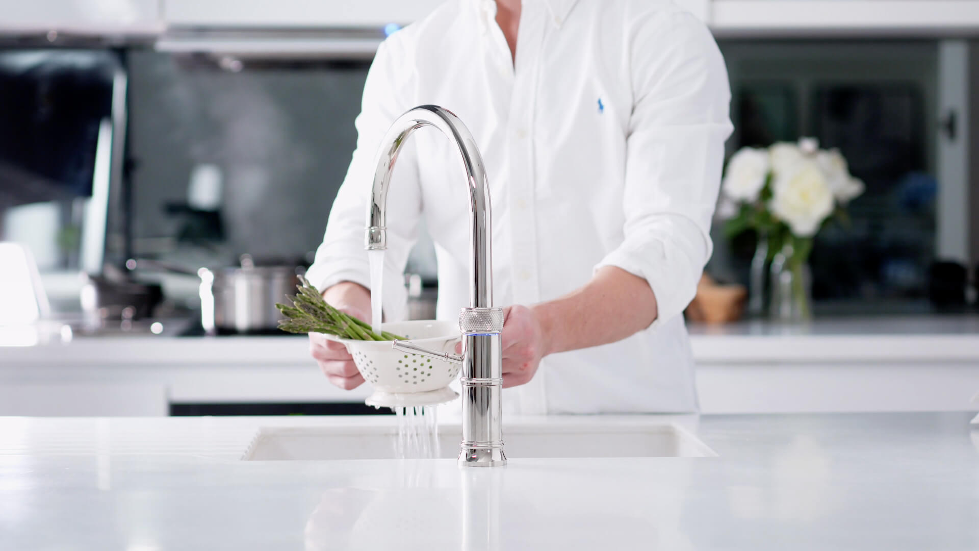 Quooker Fusion Nickel Round Boiling Tap