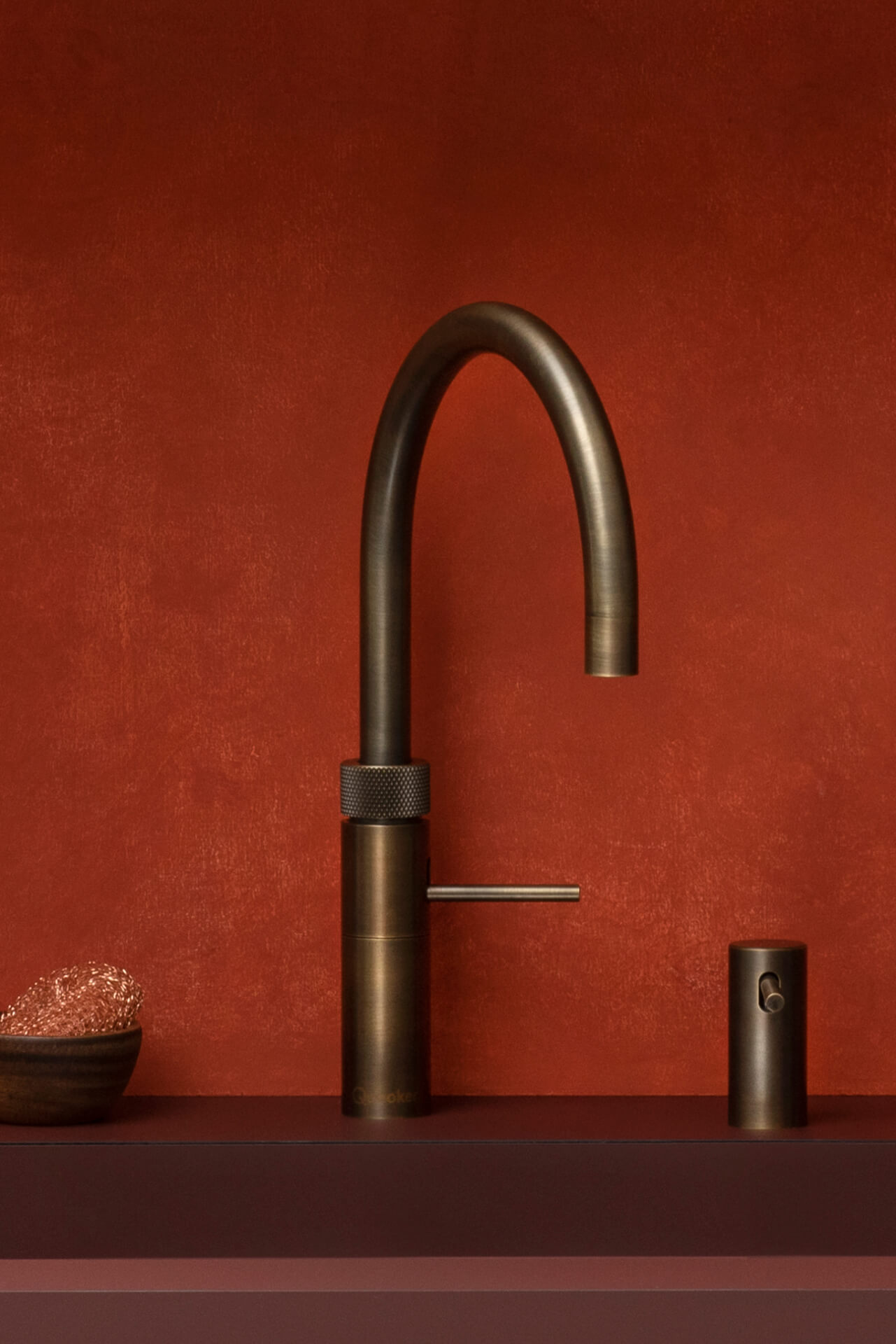 Quooker Fusion Silver Boiling Tap