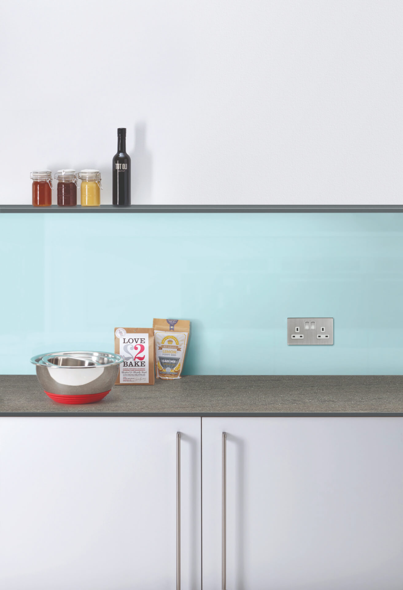Bushboard Evolve White Worktop