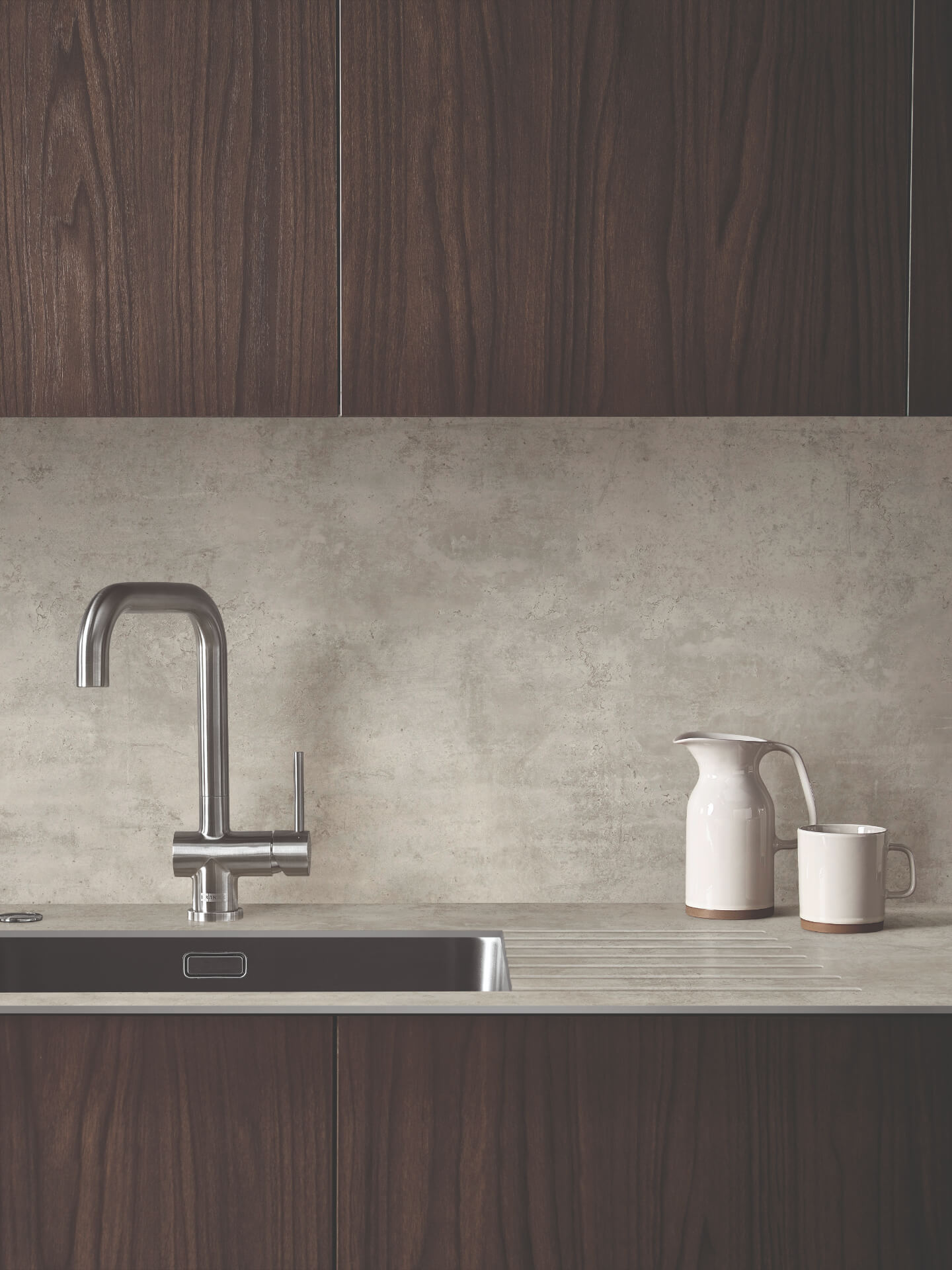 Bushboard Evolve Ivory Worktop
