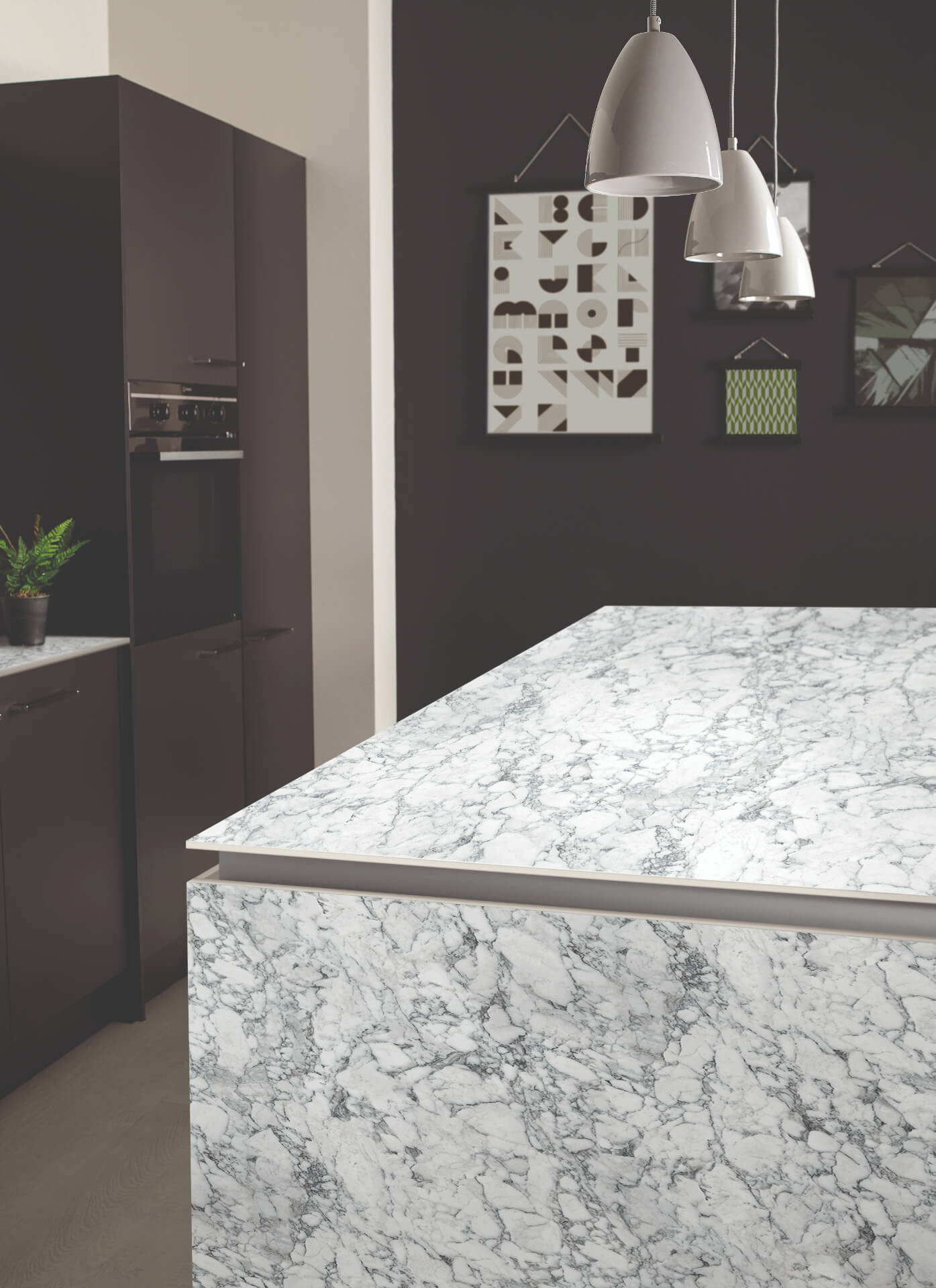 Bushboard Evolve Marble Worktop