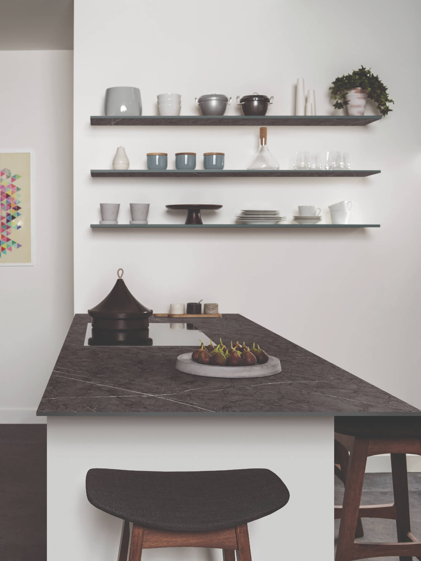 Bushboard Evolve Grey Worktop