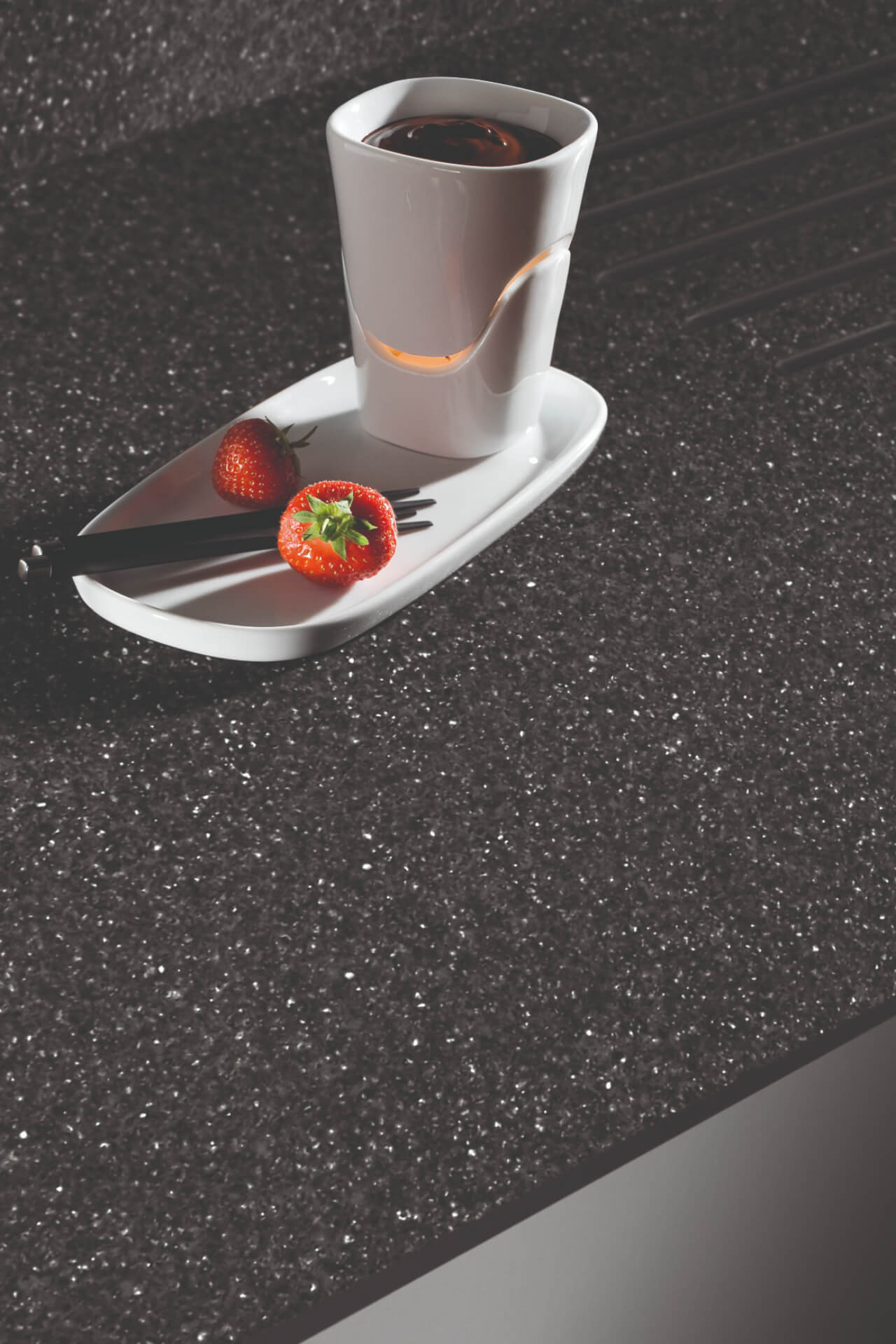 Bushboard Evolve Pebblestone Worktop