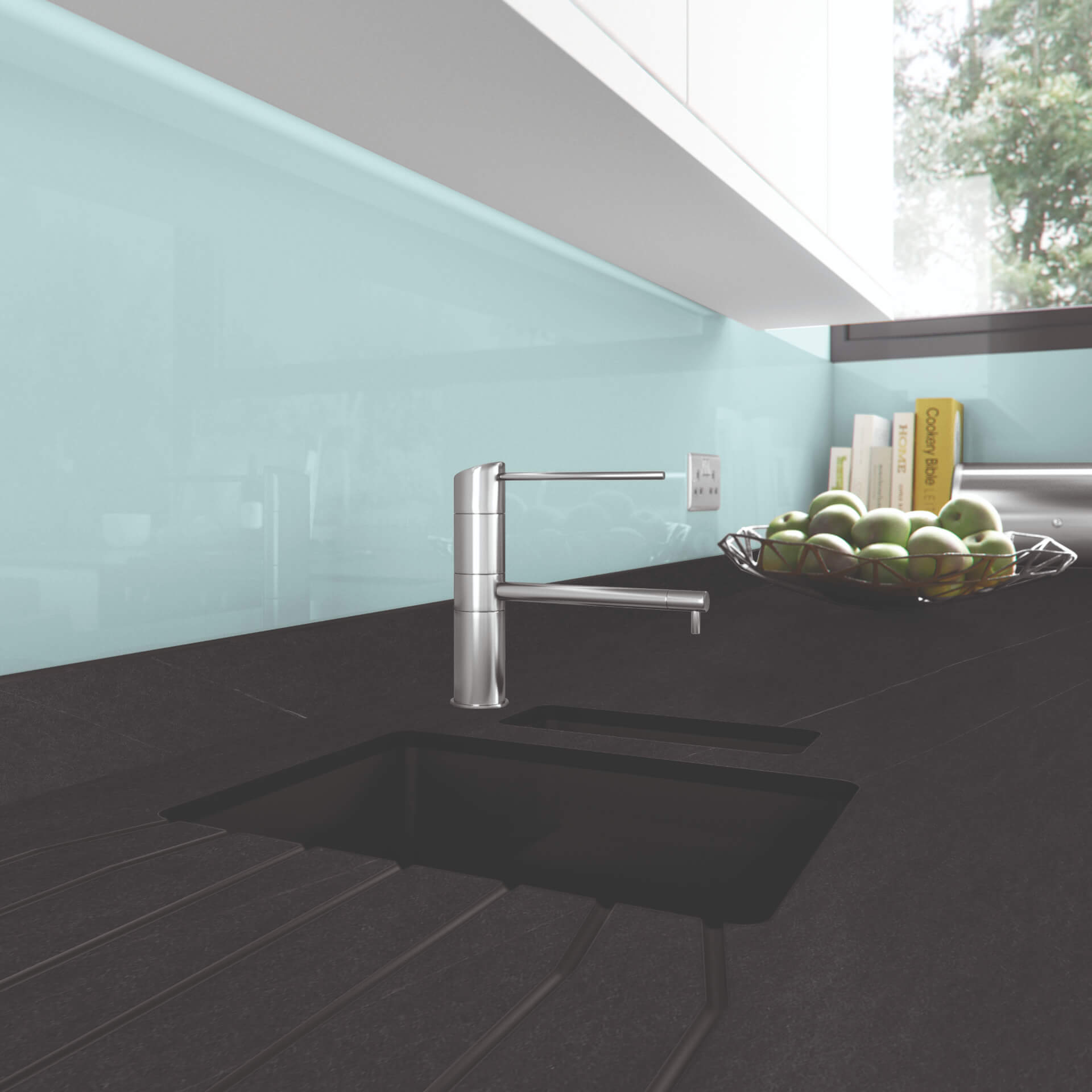 Bushboard Evolve Black Worktop