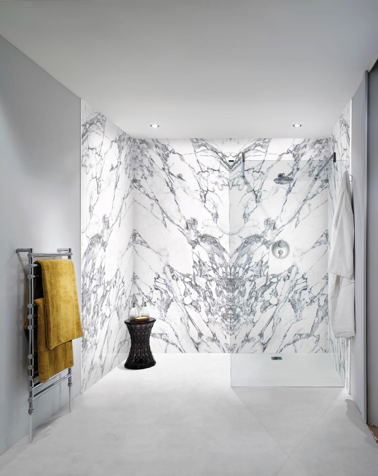 Bushboard Nuance Marble Shower Board