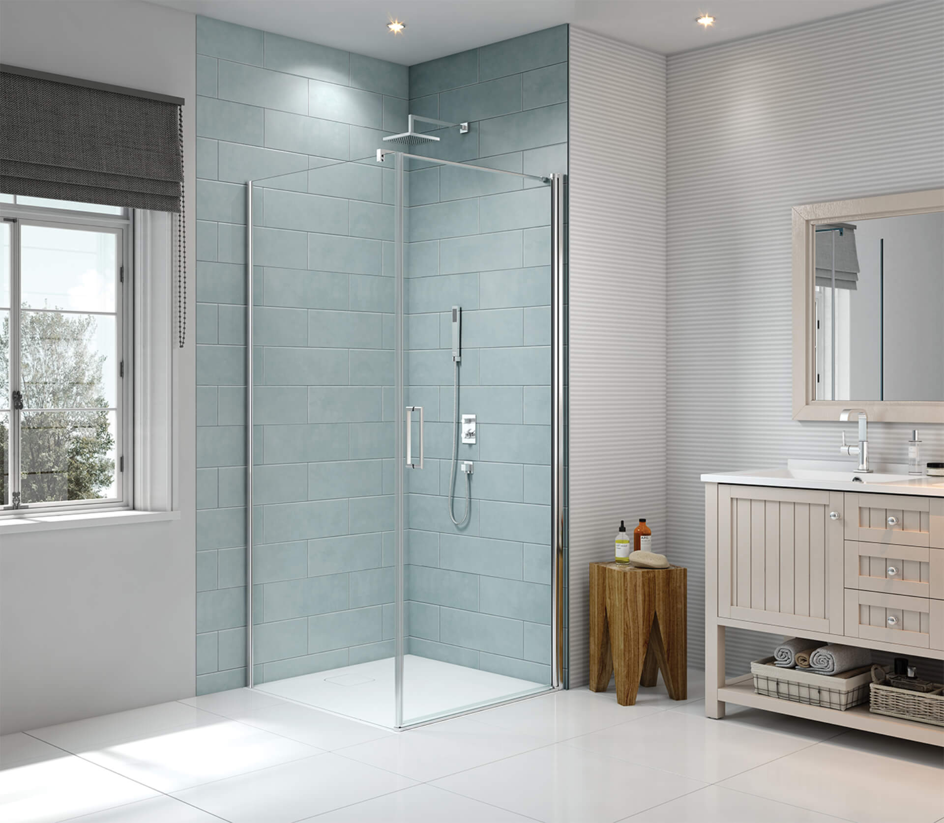 Merlyn Shower Series Collection Bathroom