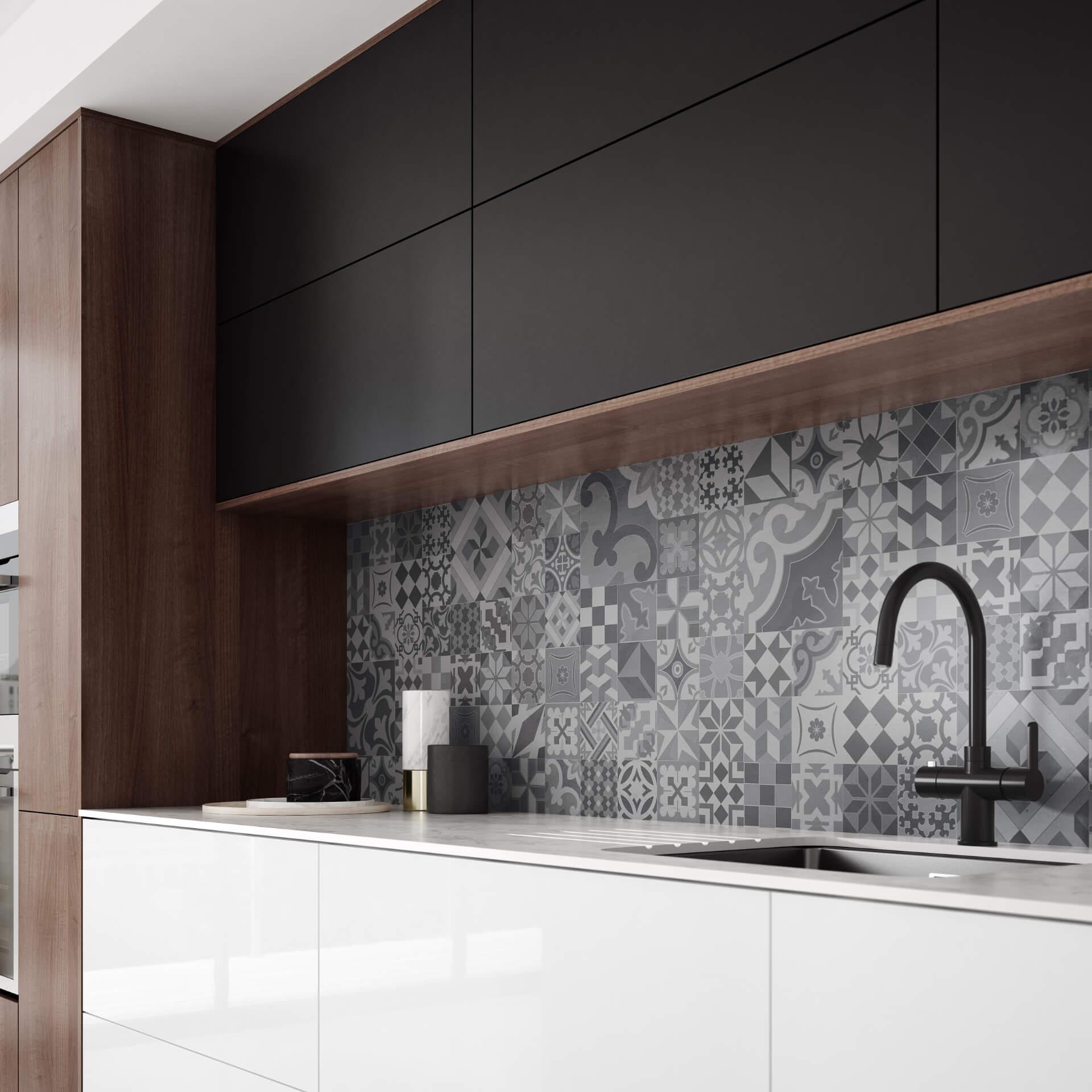 Bushboard Vista Kitchen Mosaic Board