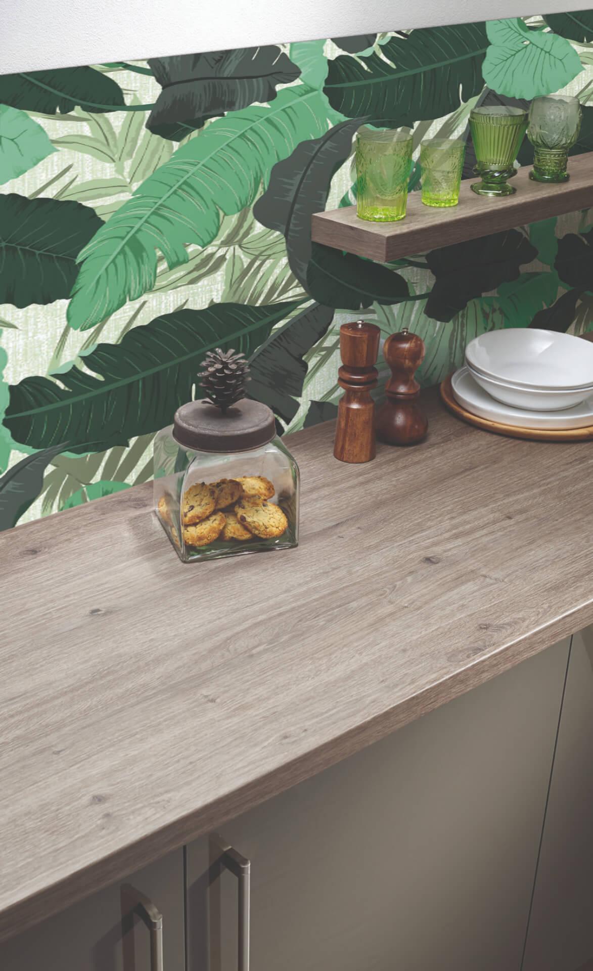 Bushboard Vista Kitchen Green Board