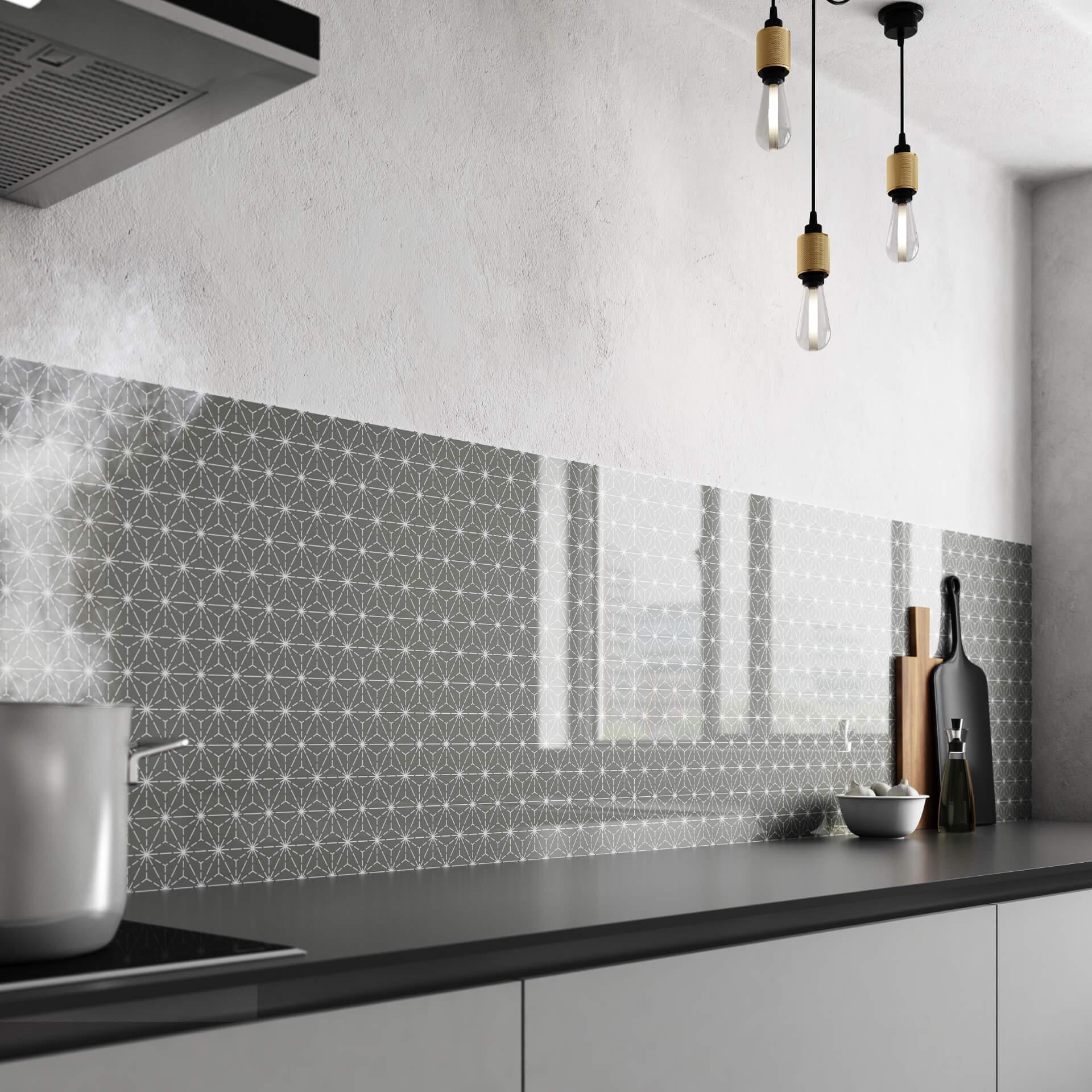 Bushboard Vista Kitchen Grey Board