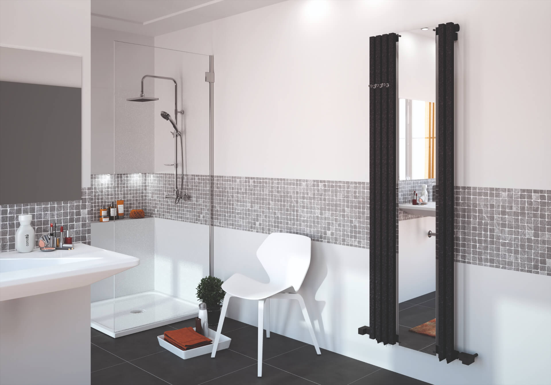 Radox Radiators Black Mirror Radiator