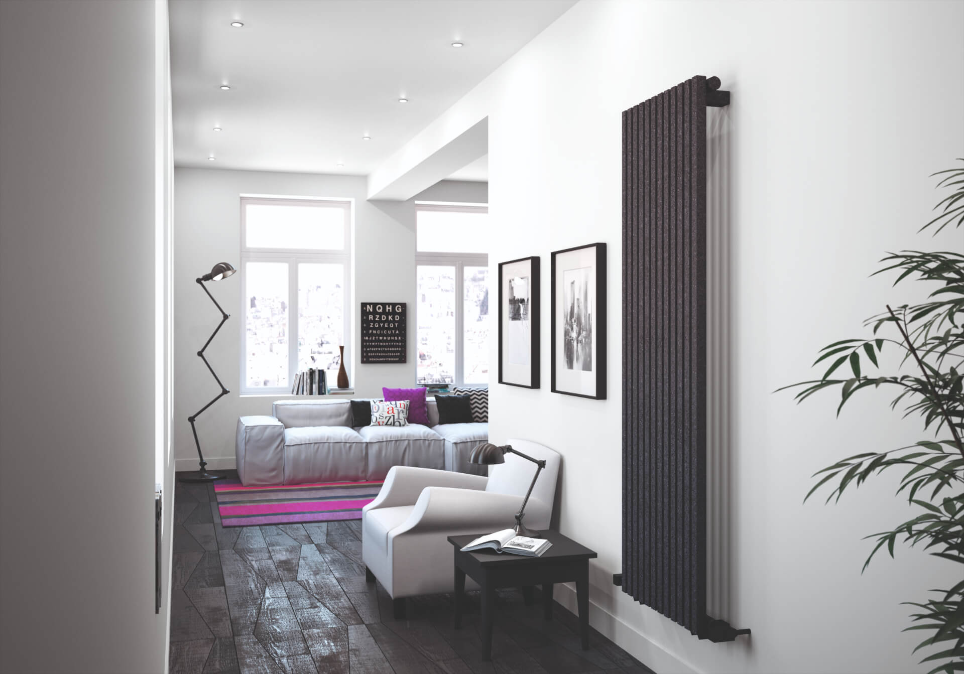 Radox Radiators Black Radiator