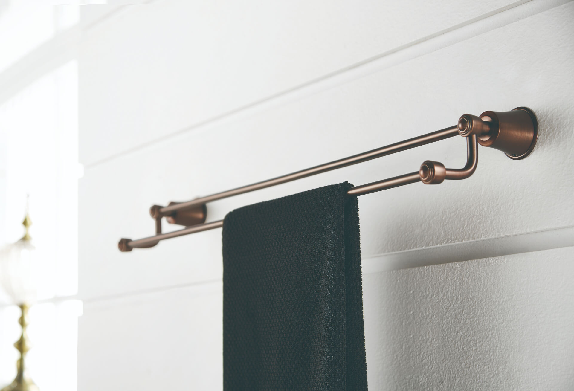 Flova Bronze Towel Holder