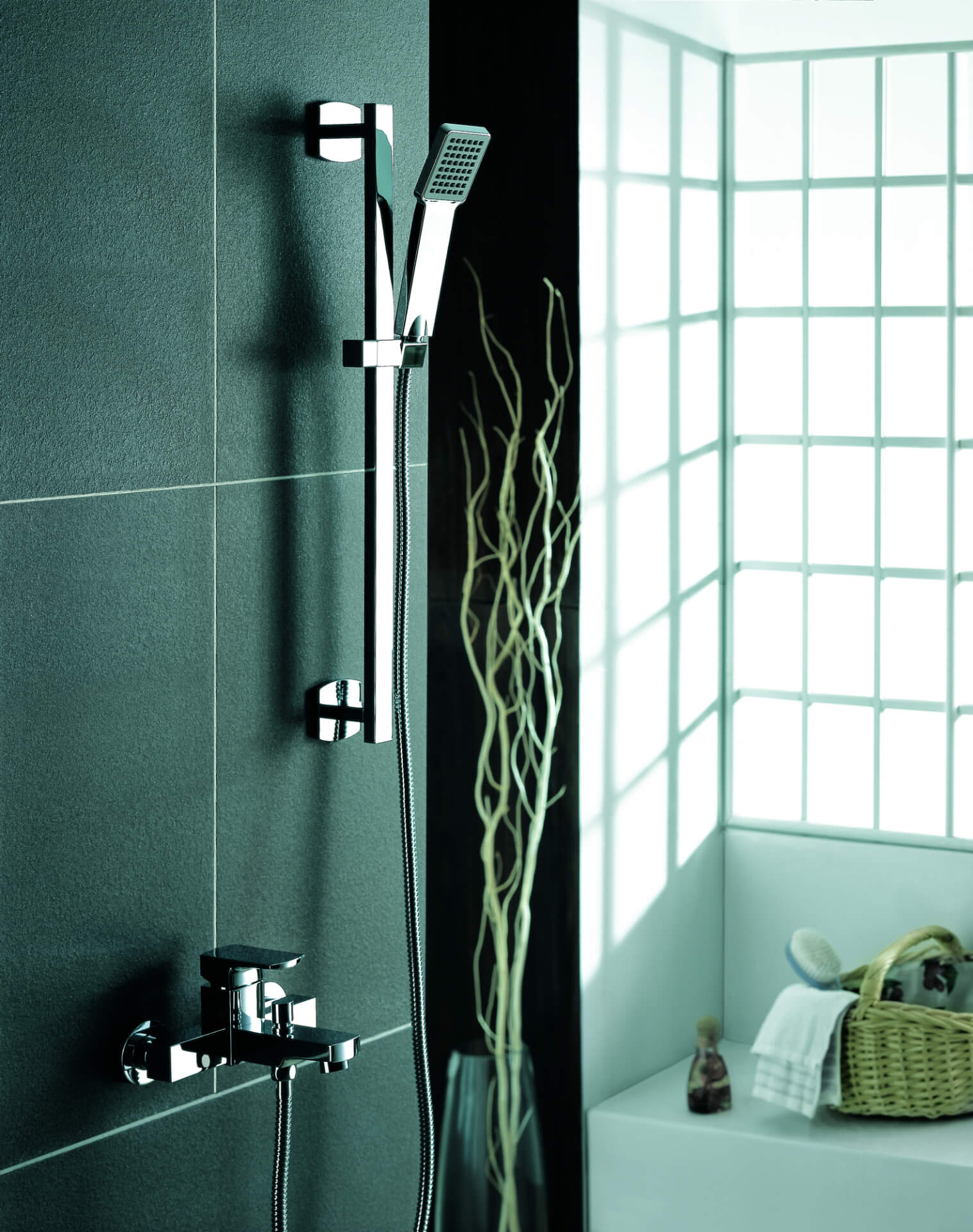 Flova Silver  Shower