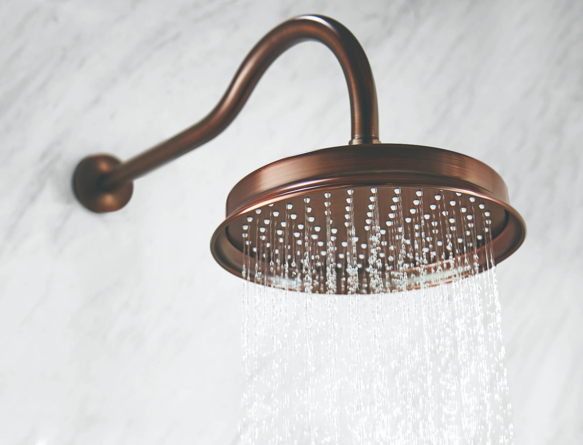 Flova Bronze Round Shower