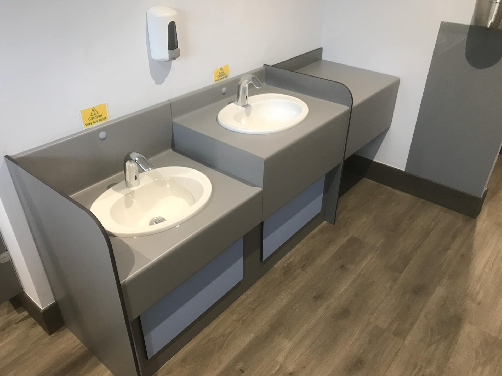 New Bathroom Sink Units
