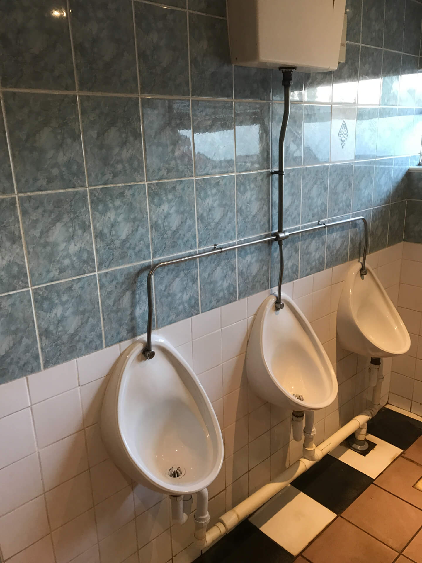 Old Toilet Units