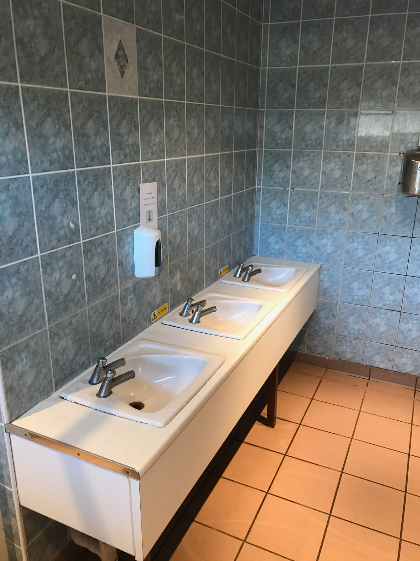 Old Bathroom Units