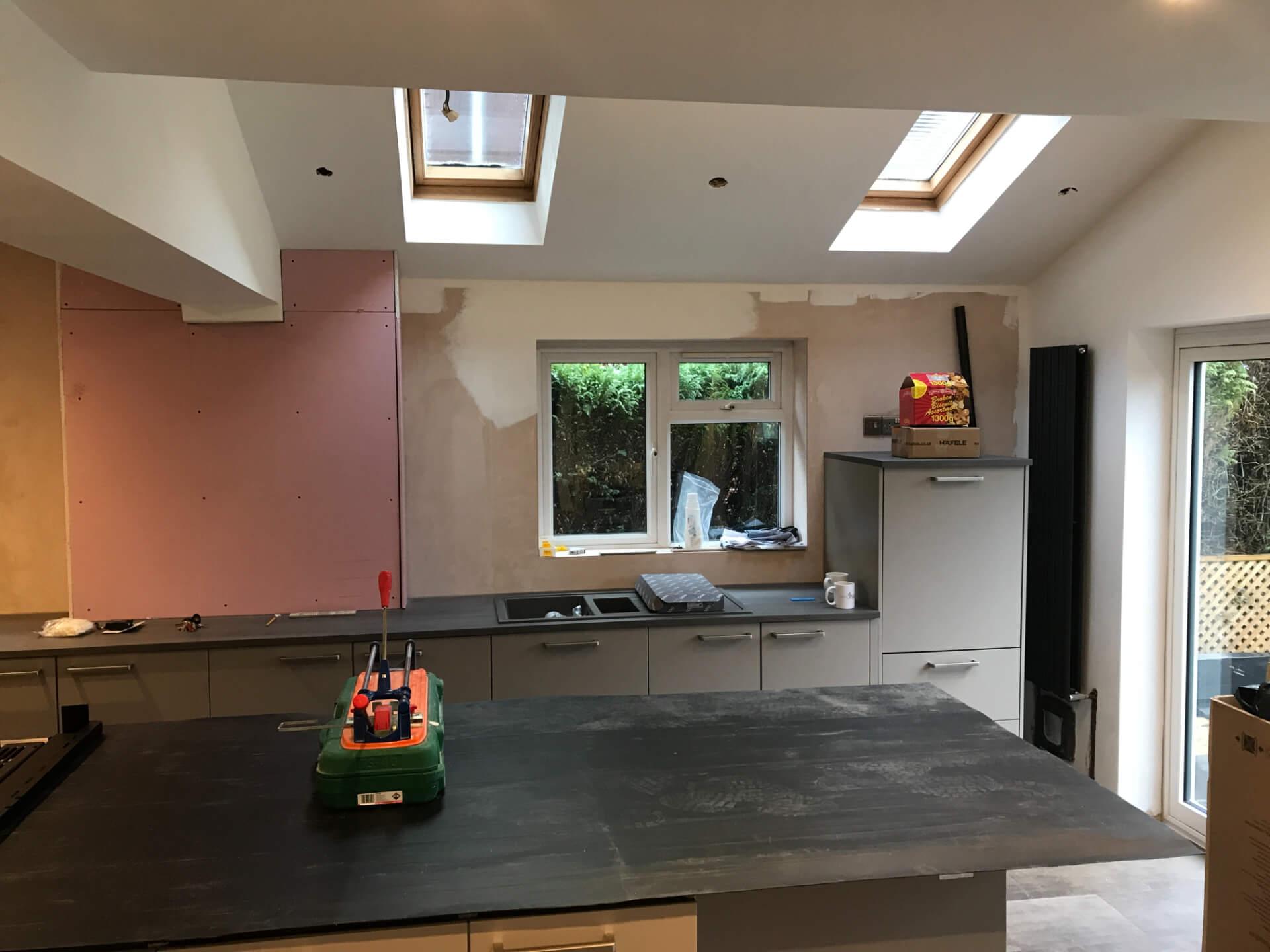 New Kitchen Walls