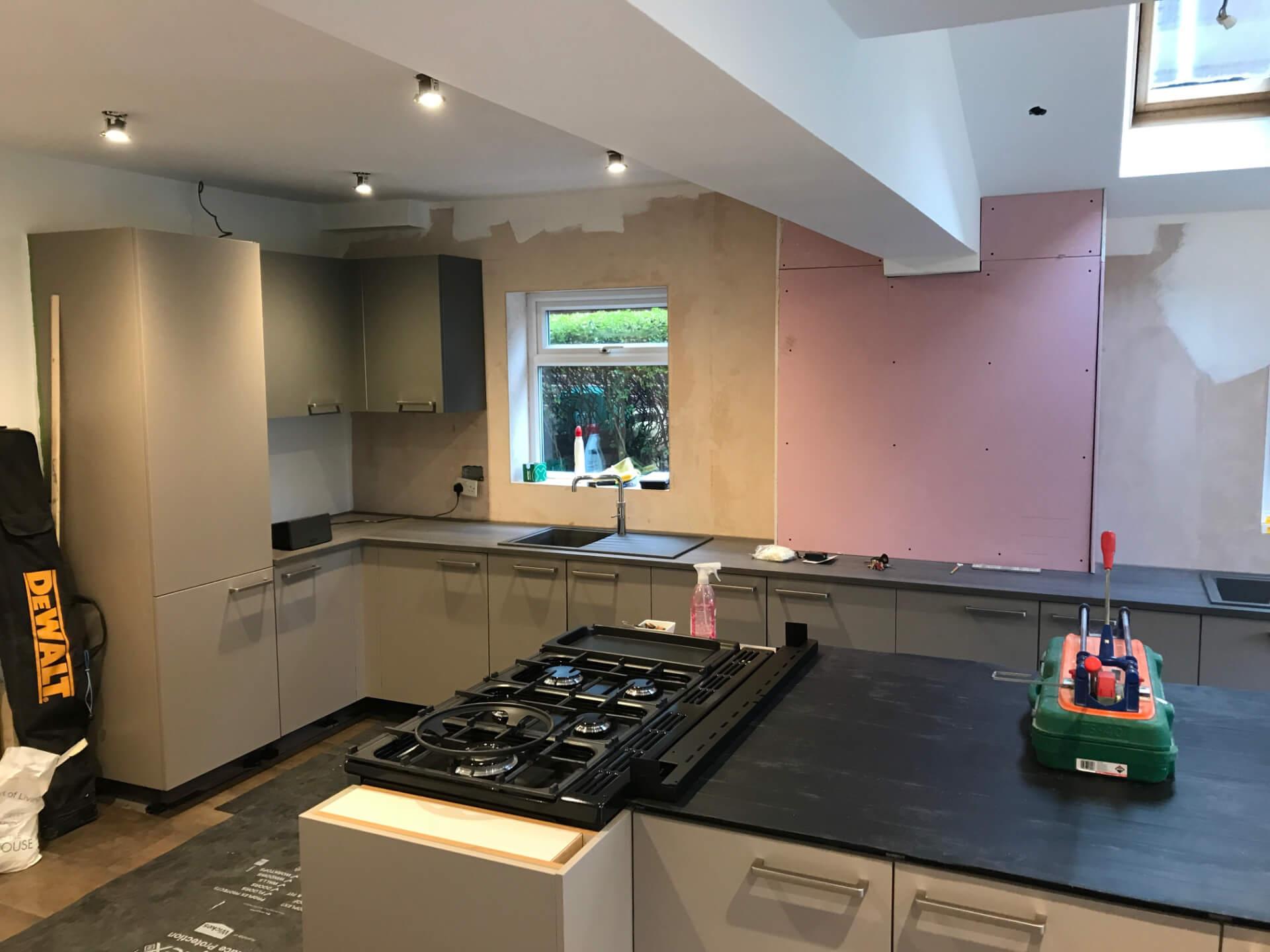 New Kitchen Mounting