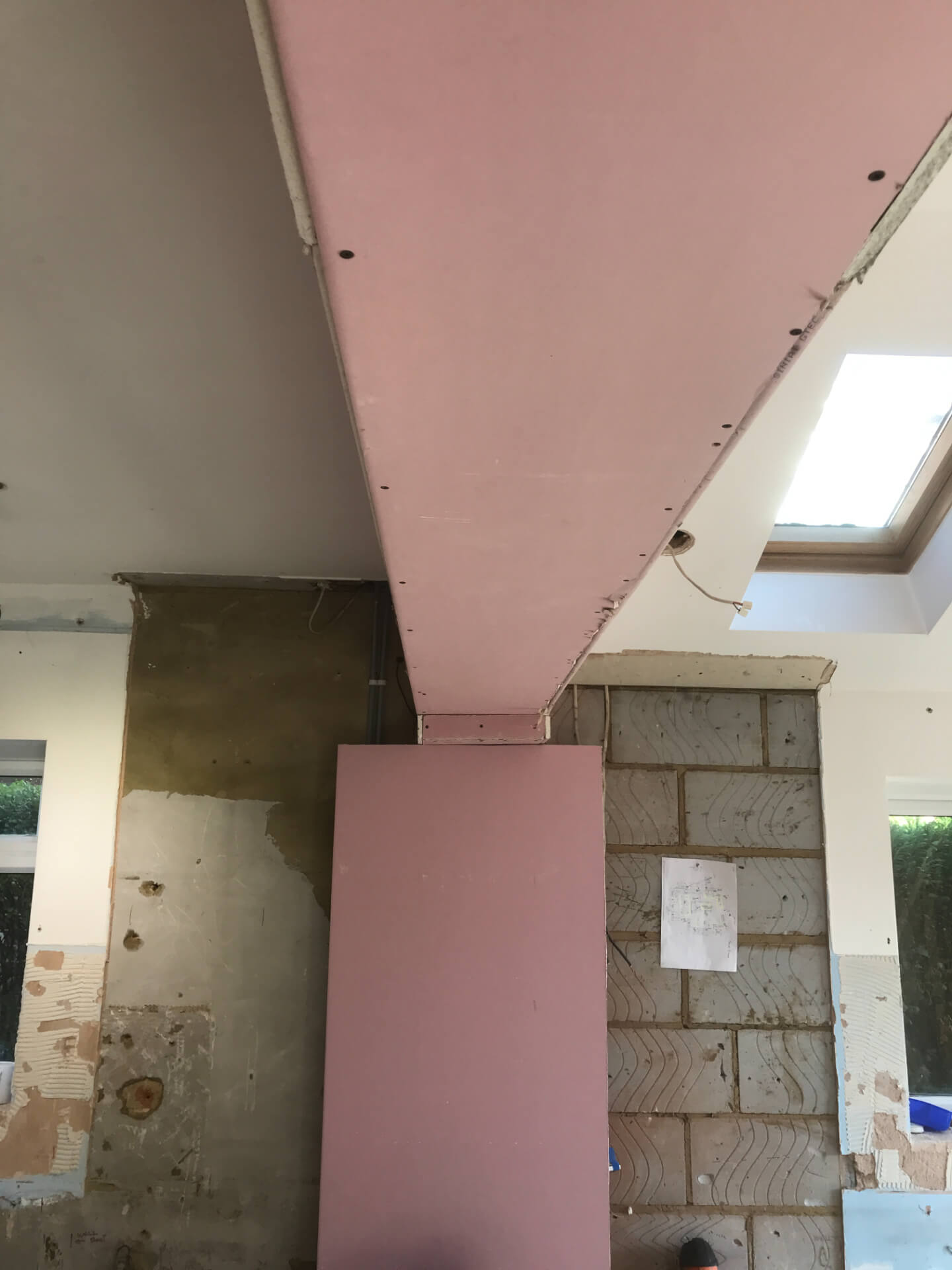 Old Ceiling Repairing
