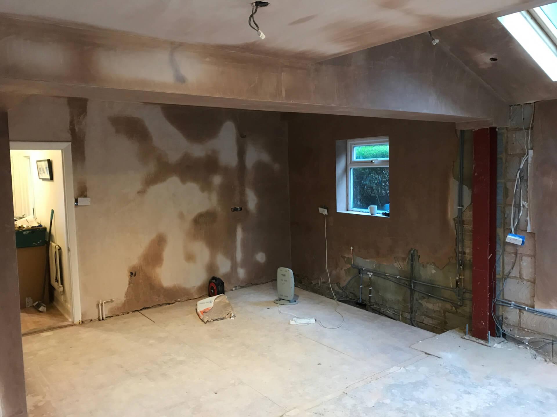 Kitchen Walls Repairing