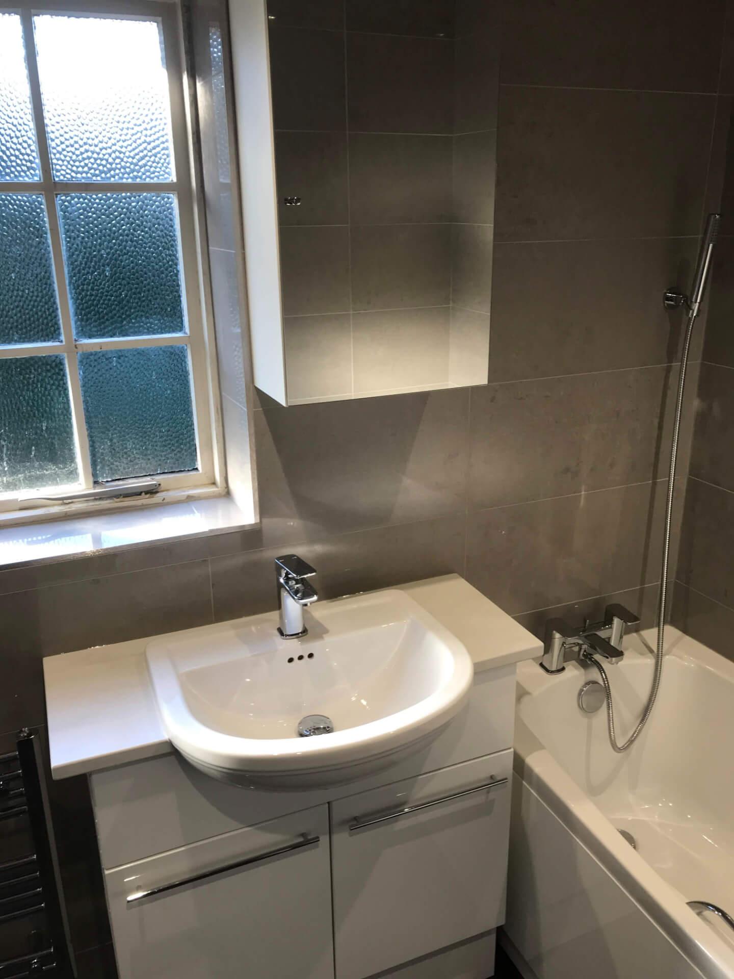 New Bathroom Sink Unit