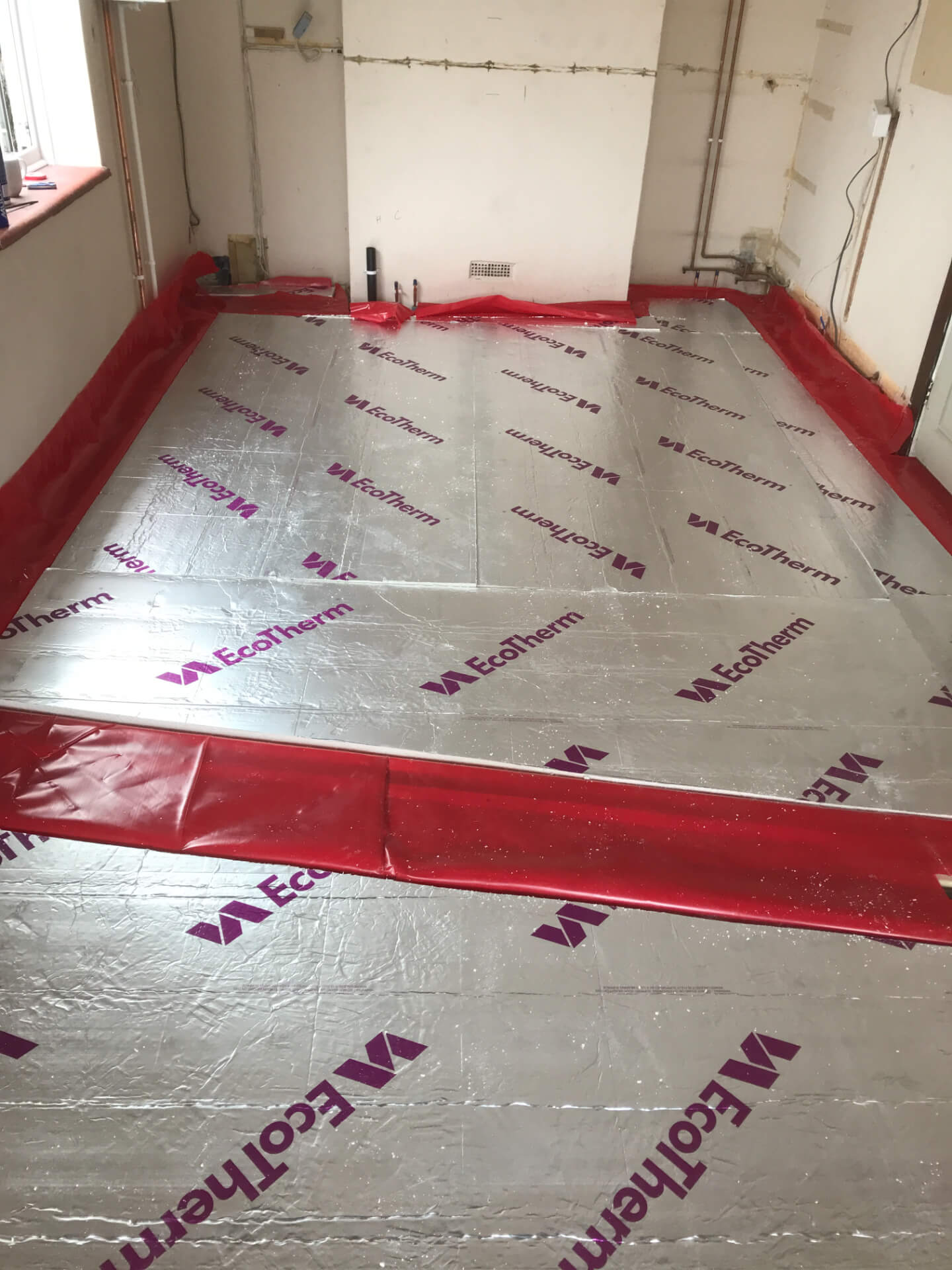 Utility Floor Repairing