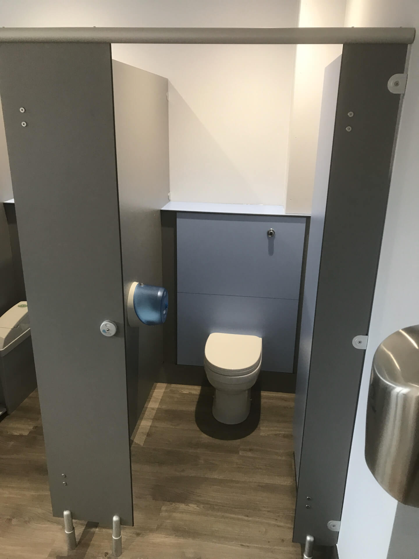 New Toilet Units