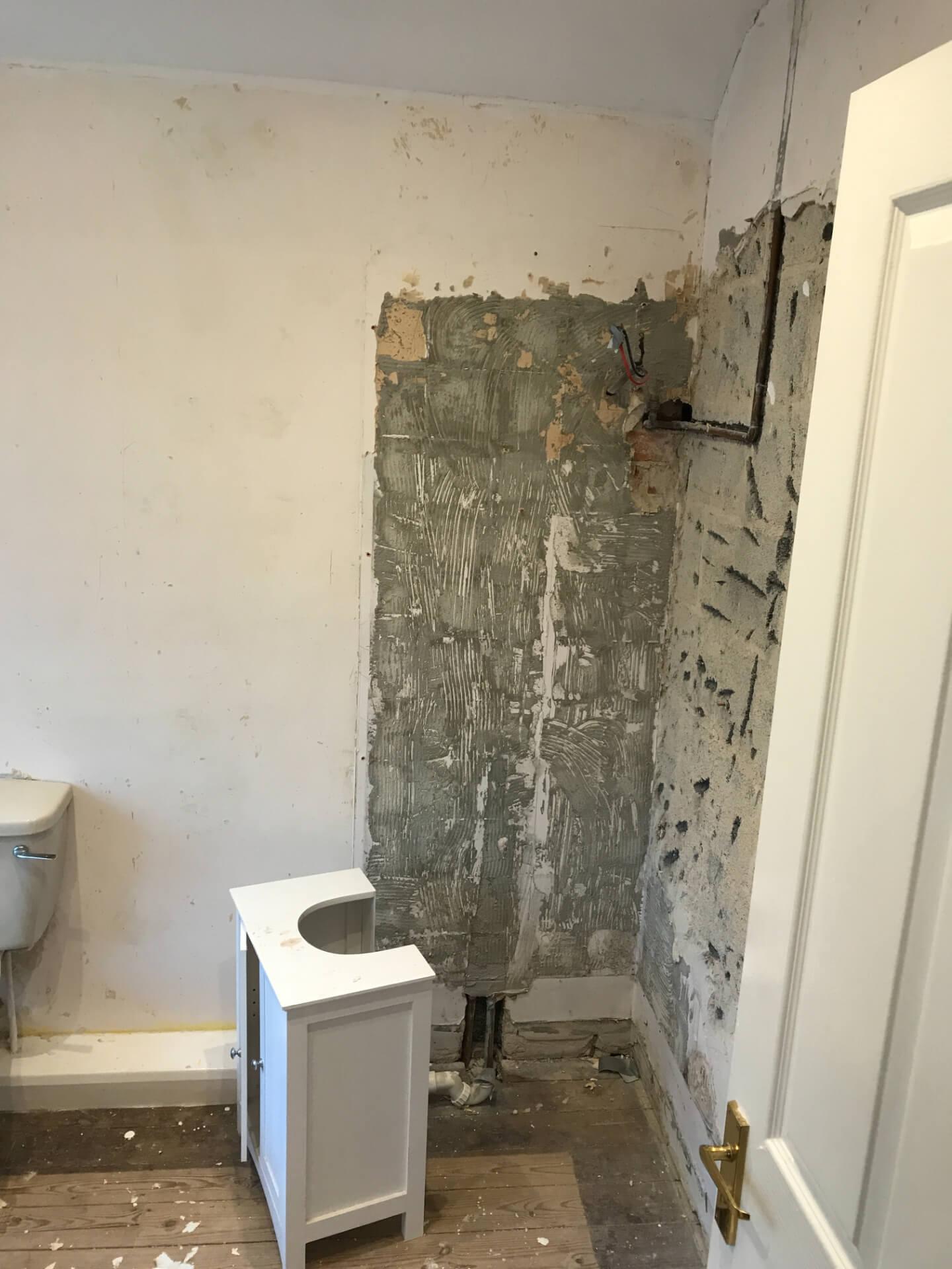 Reconstructing Bathroom Walls