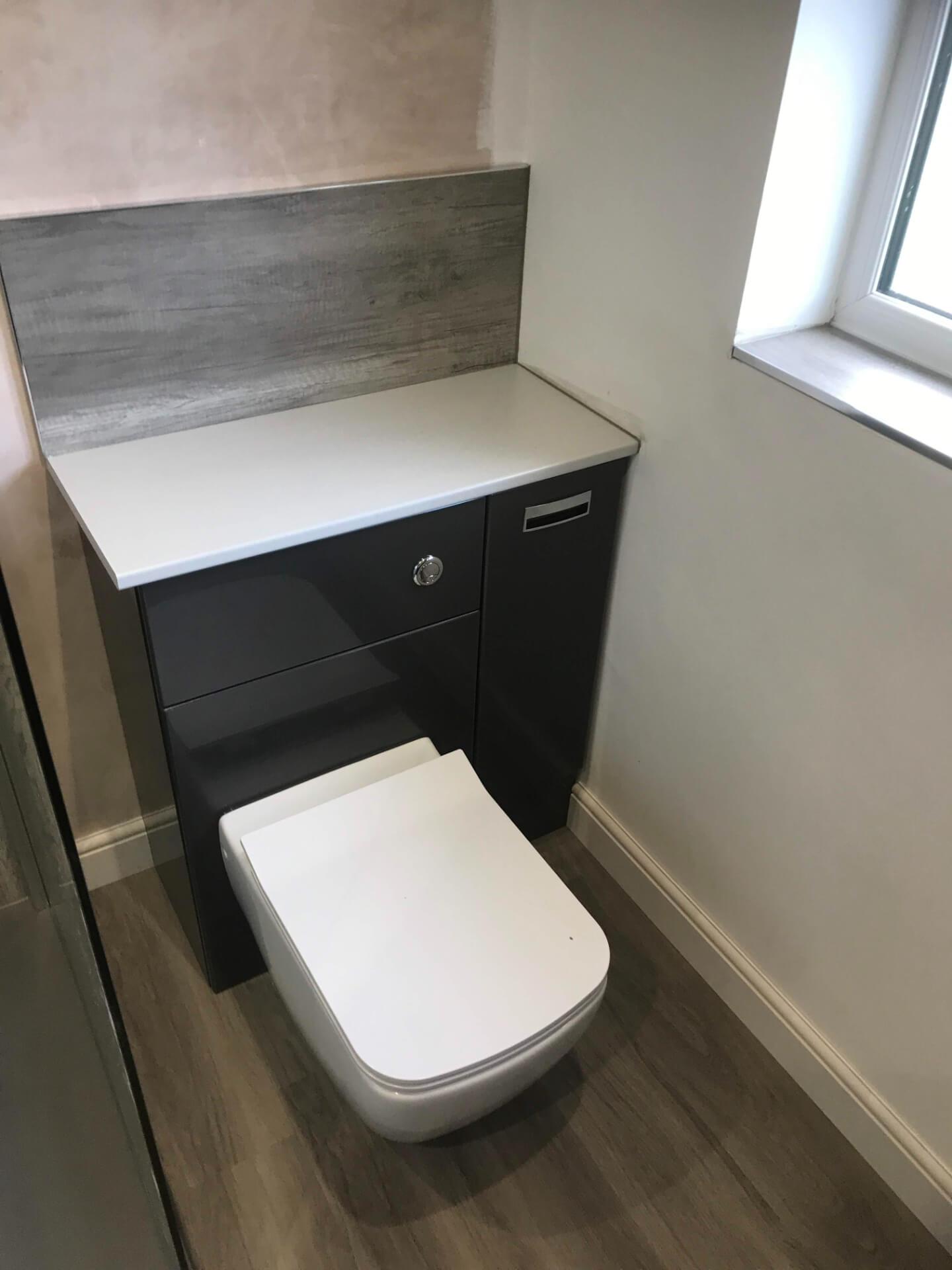 New Bathroom Toilet Unit