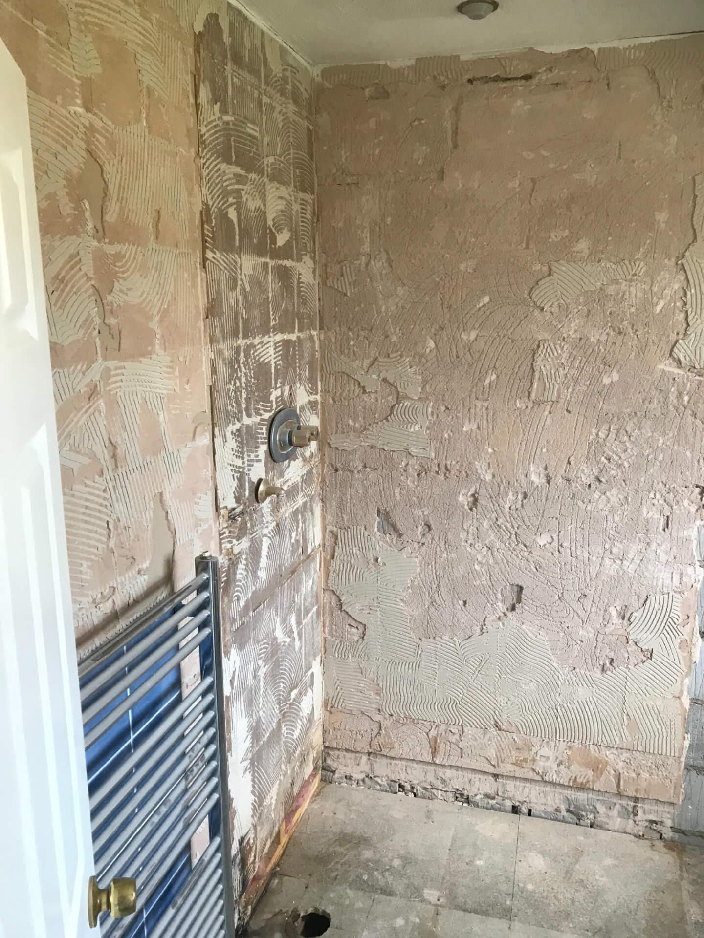 Bathroom Walls Repairing