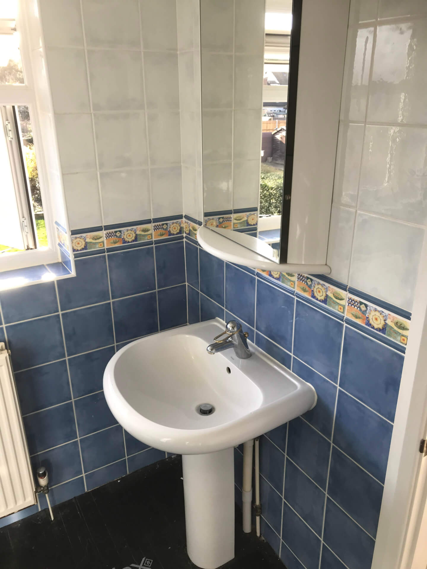 Old Bathroom Sink Unit
