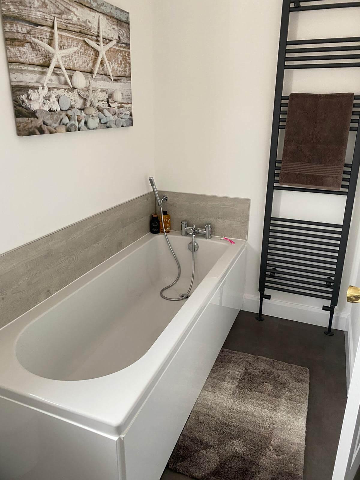New Bathroom Bathtub