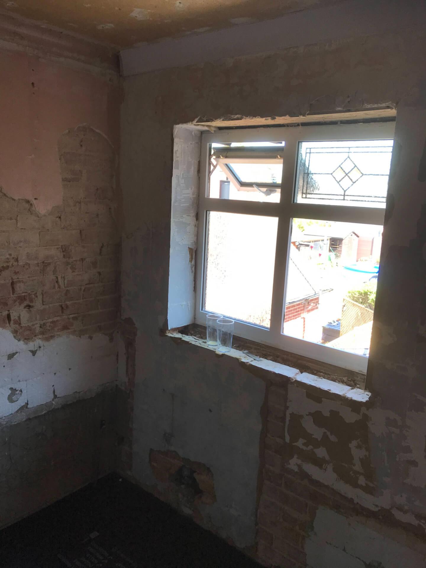 Old Bathroom Windows Repairing