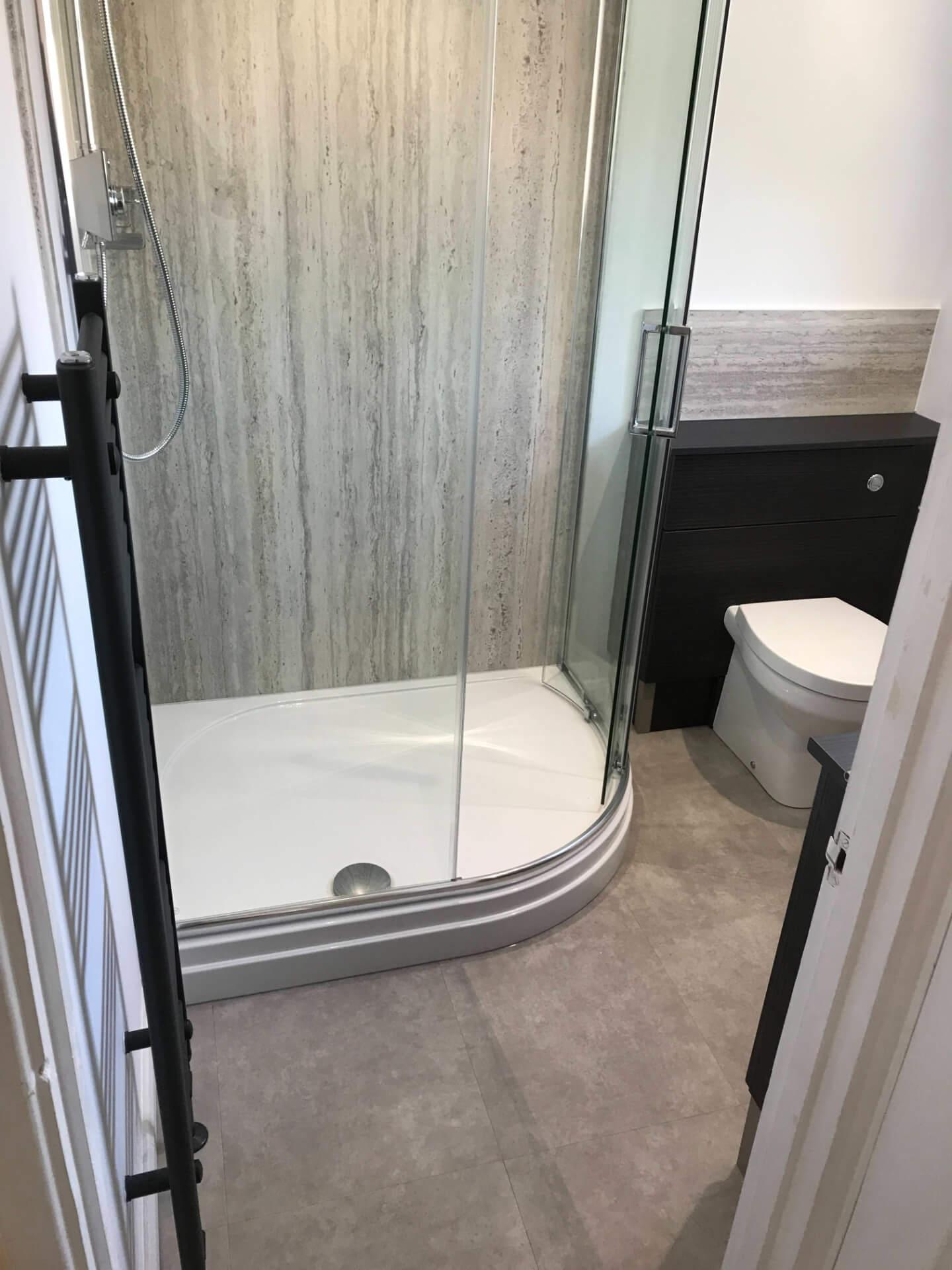 New Bathroom Shower Unit
