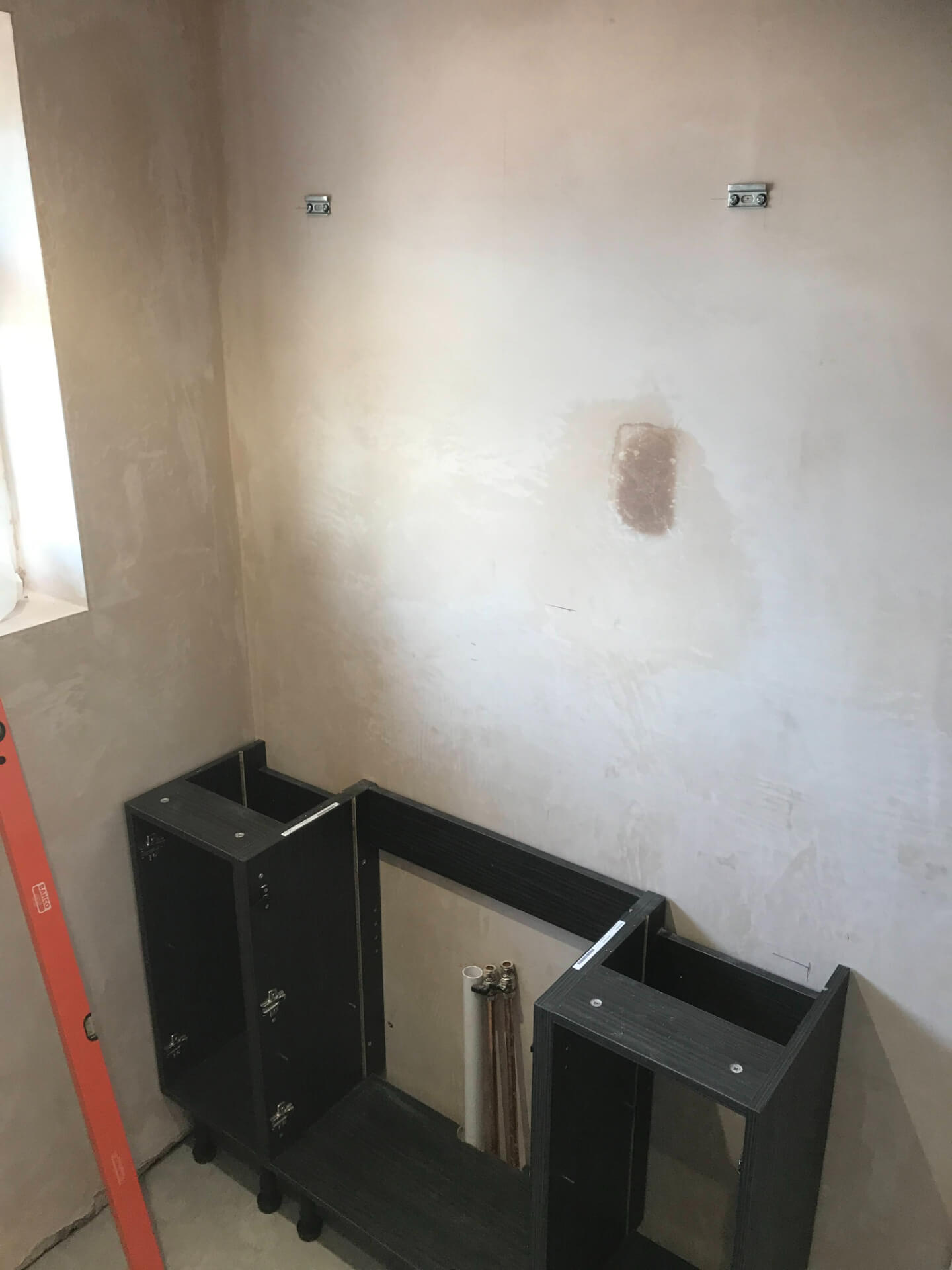 New Bathroom Sink Unit Mounting