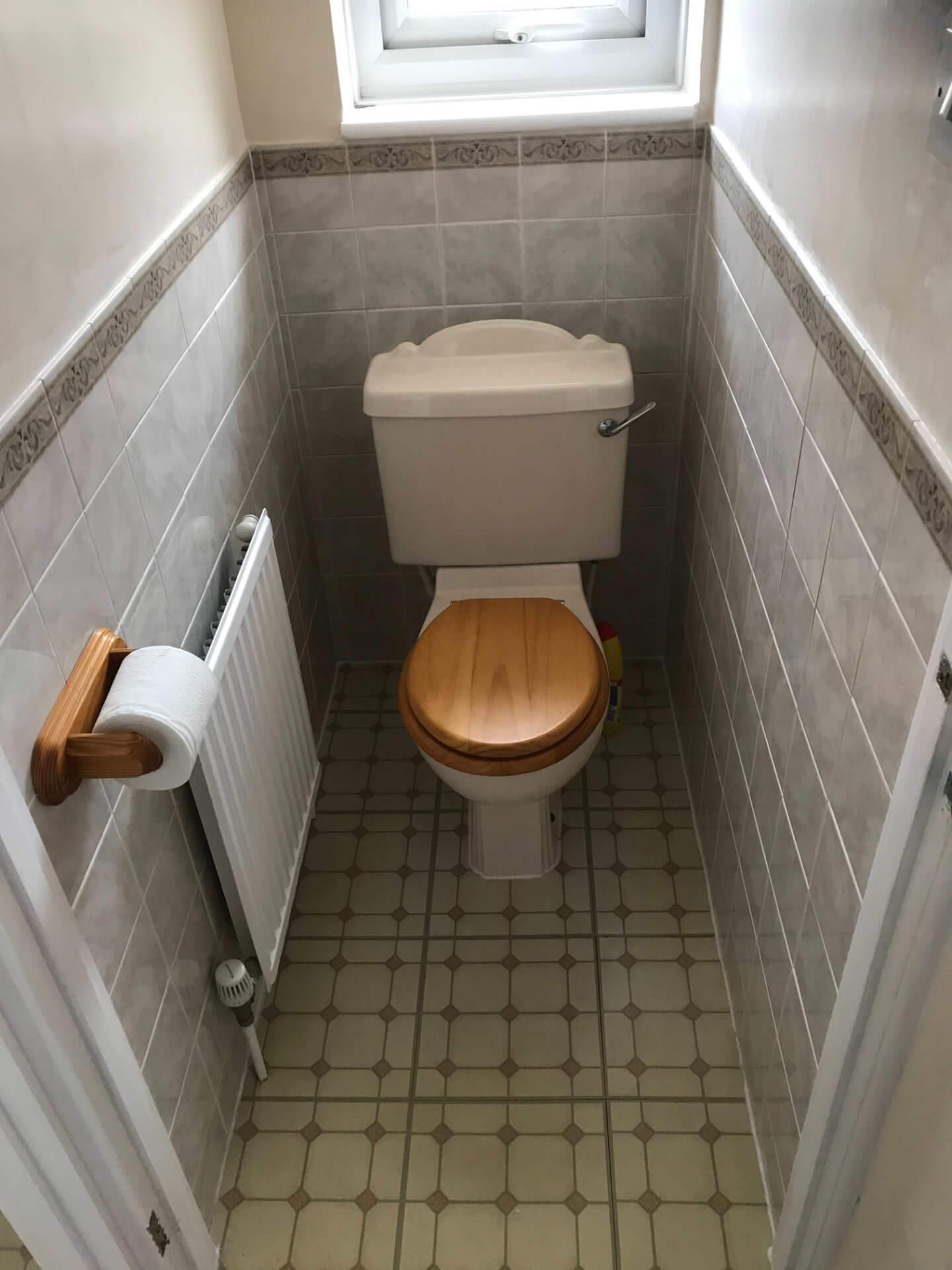Old Toilet Unit