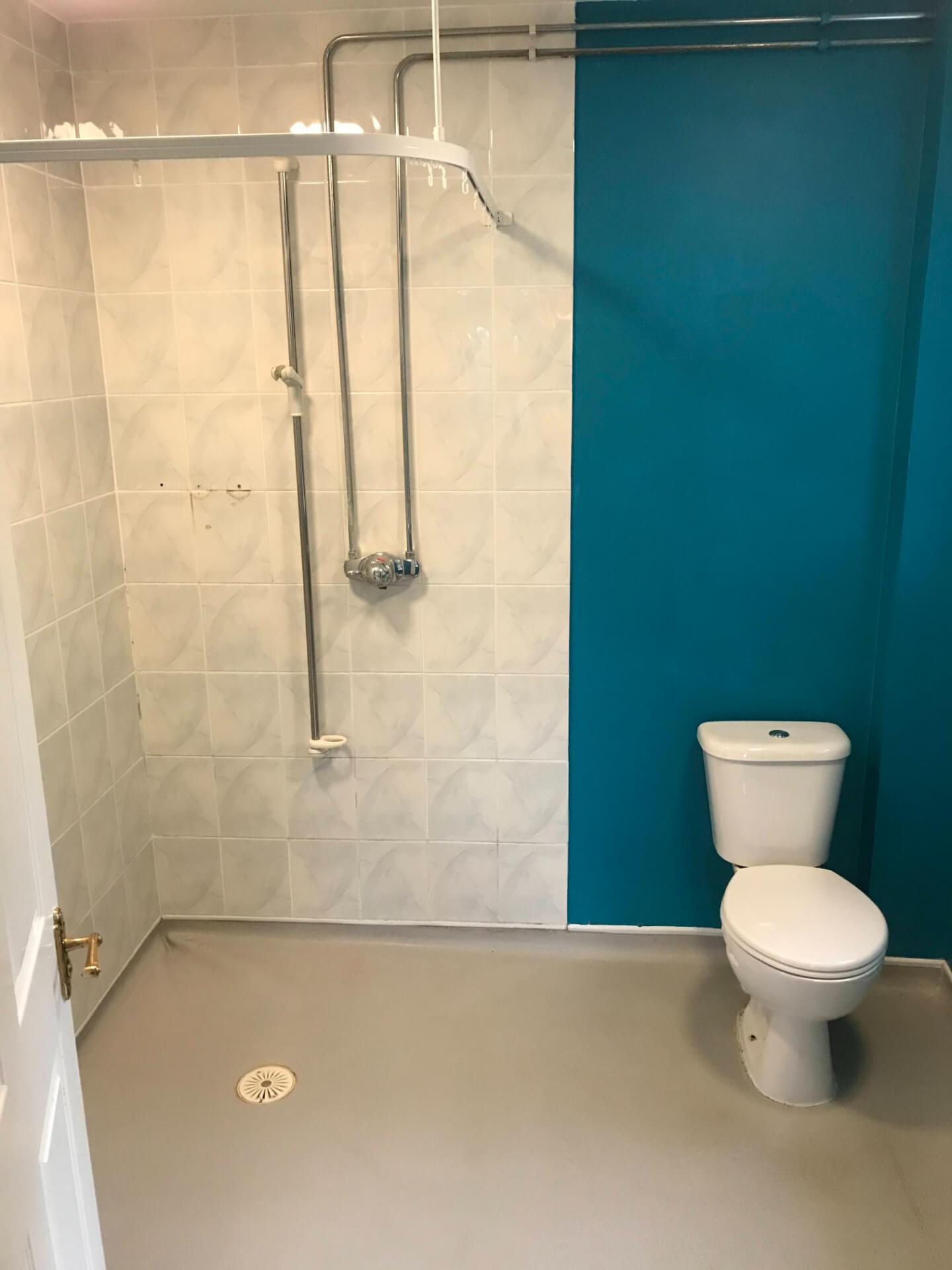 Bathroom Walls Renovation