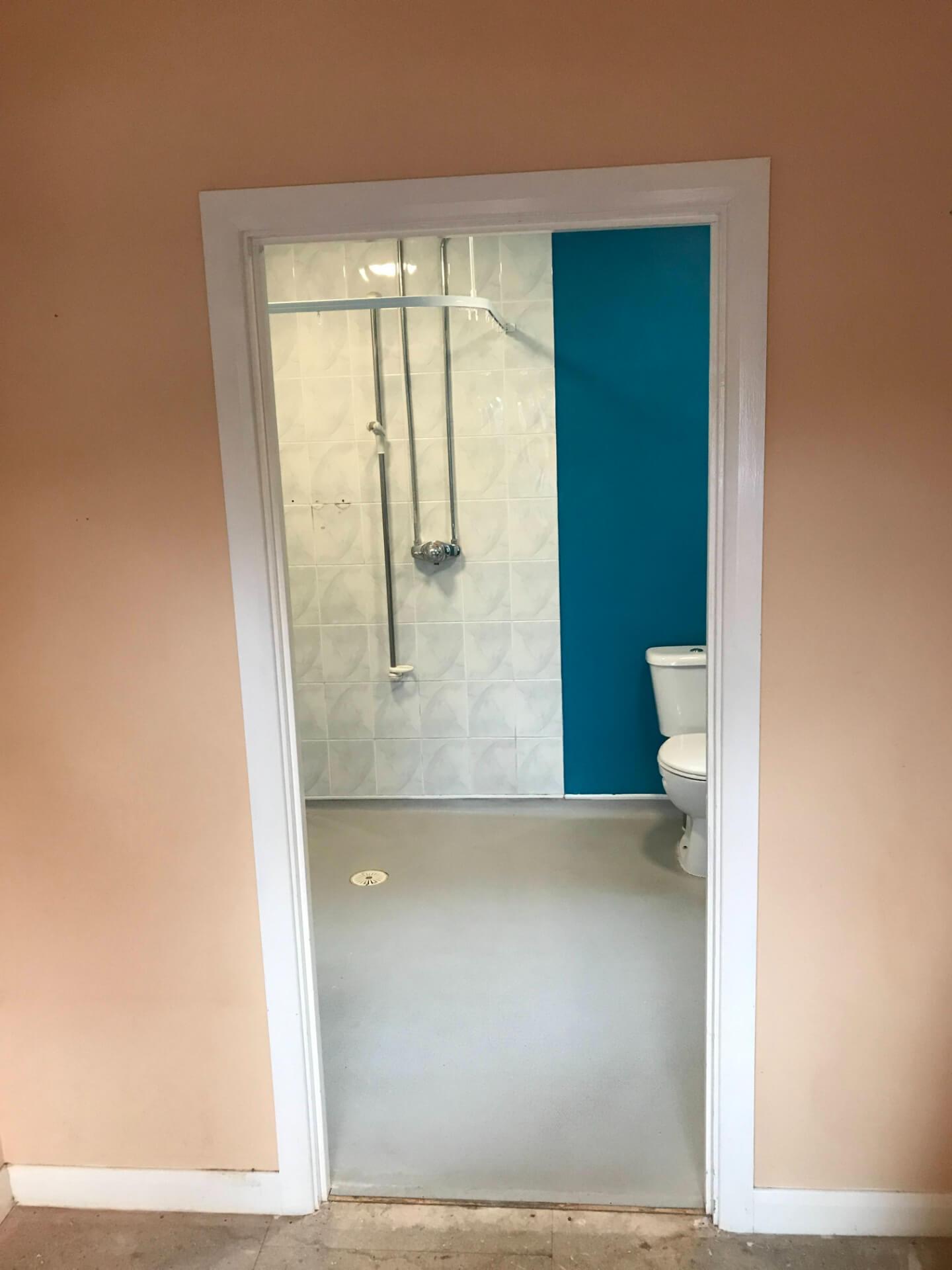 Bathroom Door Renovation