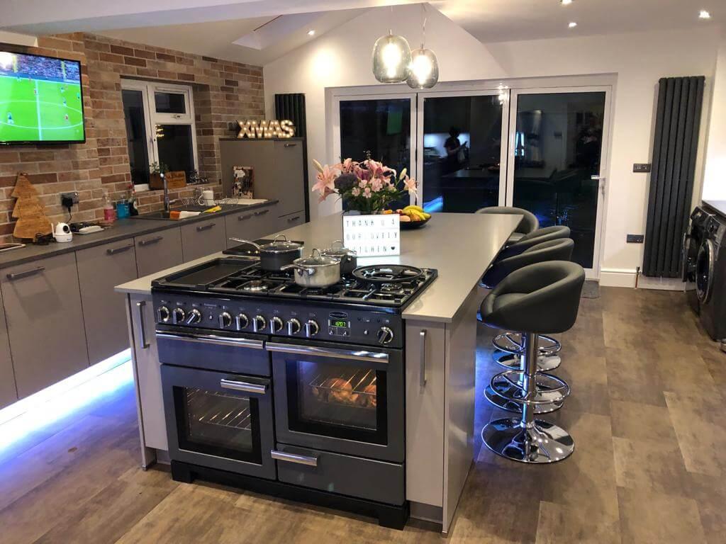 New Modern Kitchen Island