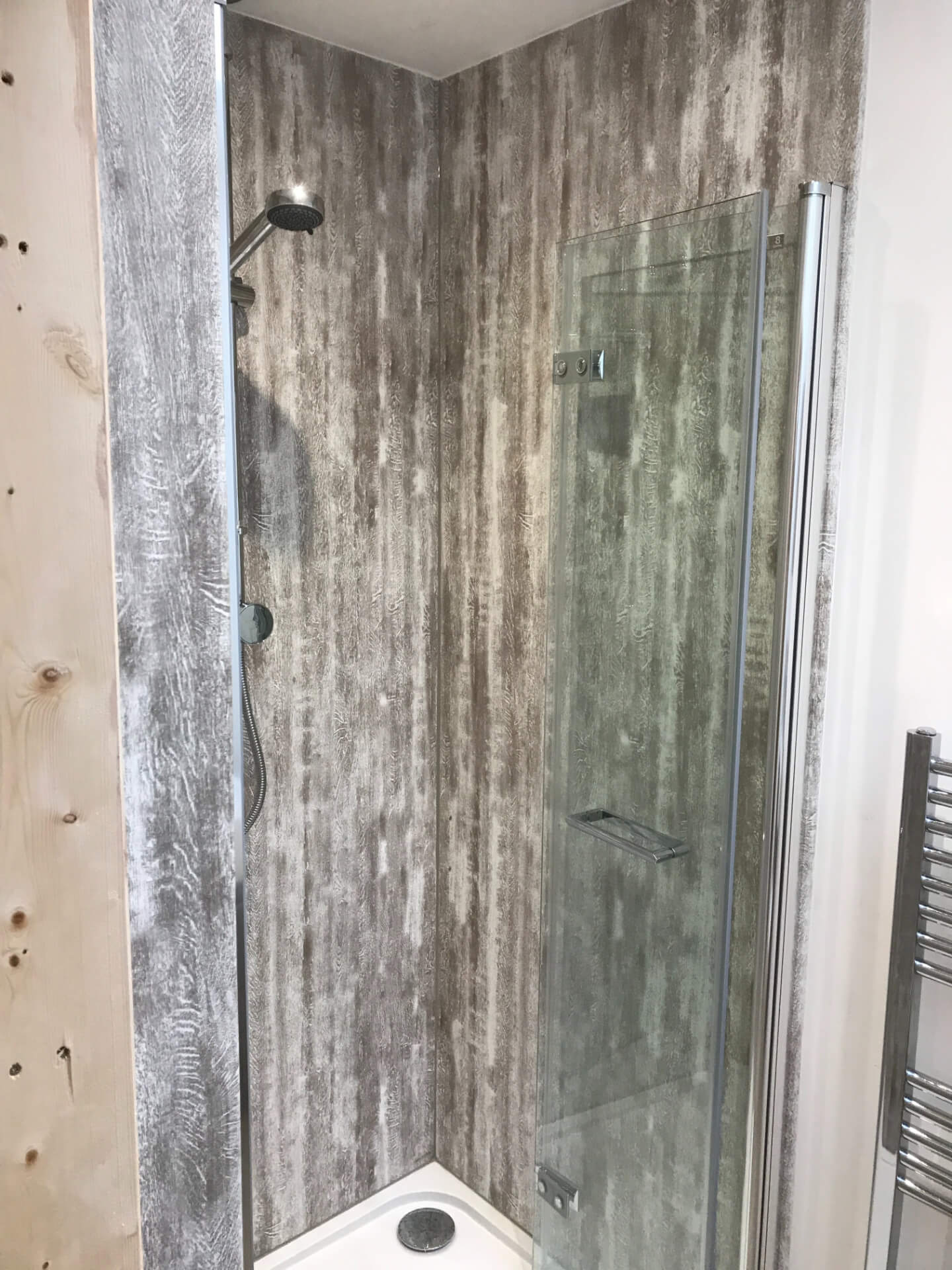 New Bathroom Shower Board