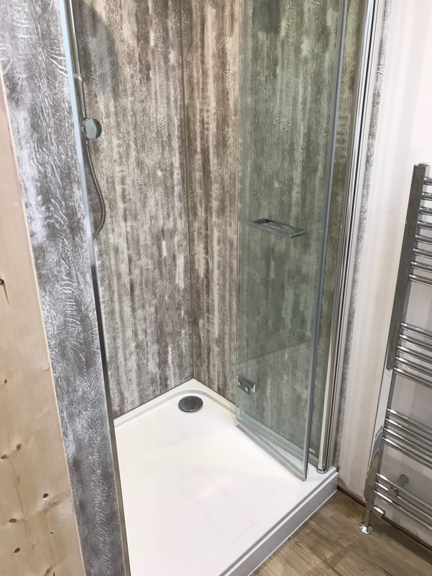 New Bathroom Shower