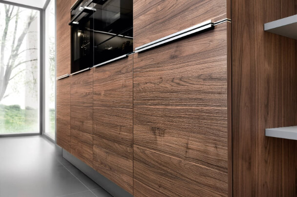 Nolte dark wood Kitchen unit