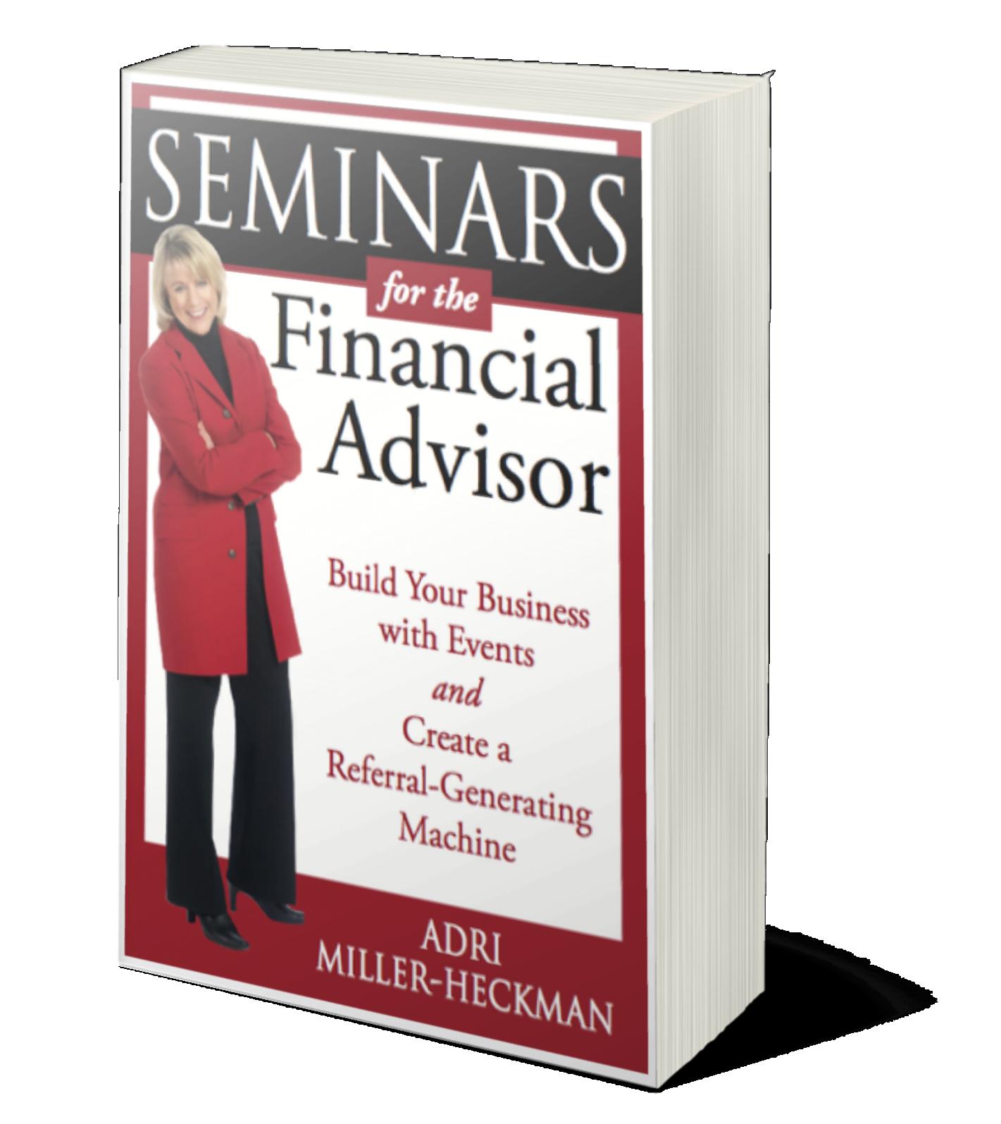 Seminars for the Financial Advisor Book Cover