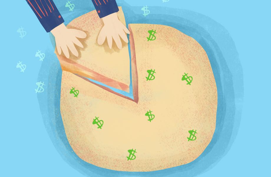 Illustration of pie.