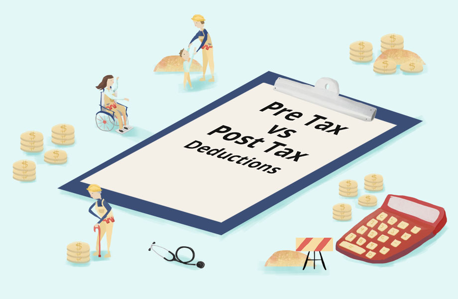 Pre-Tax and Post-Tax Deductions